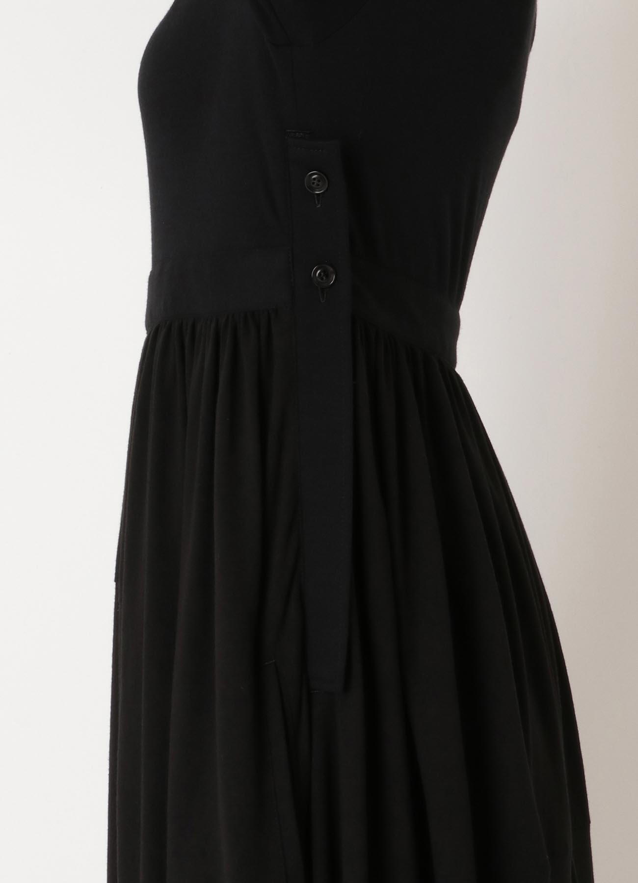 Ry/W OLIVIA SMOOTH CS GATHER DRESS