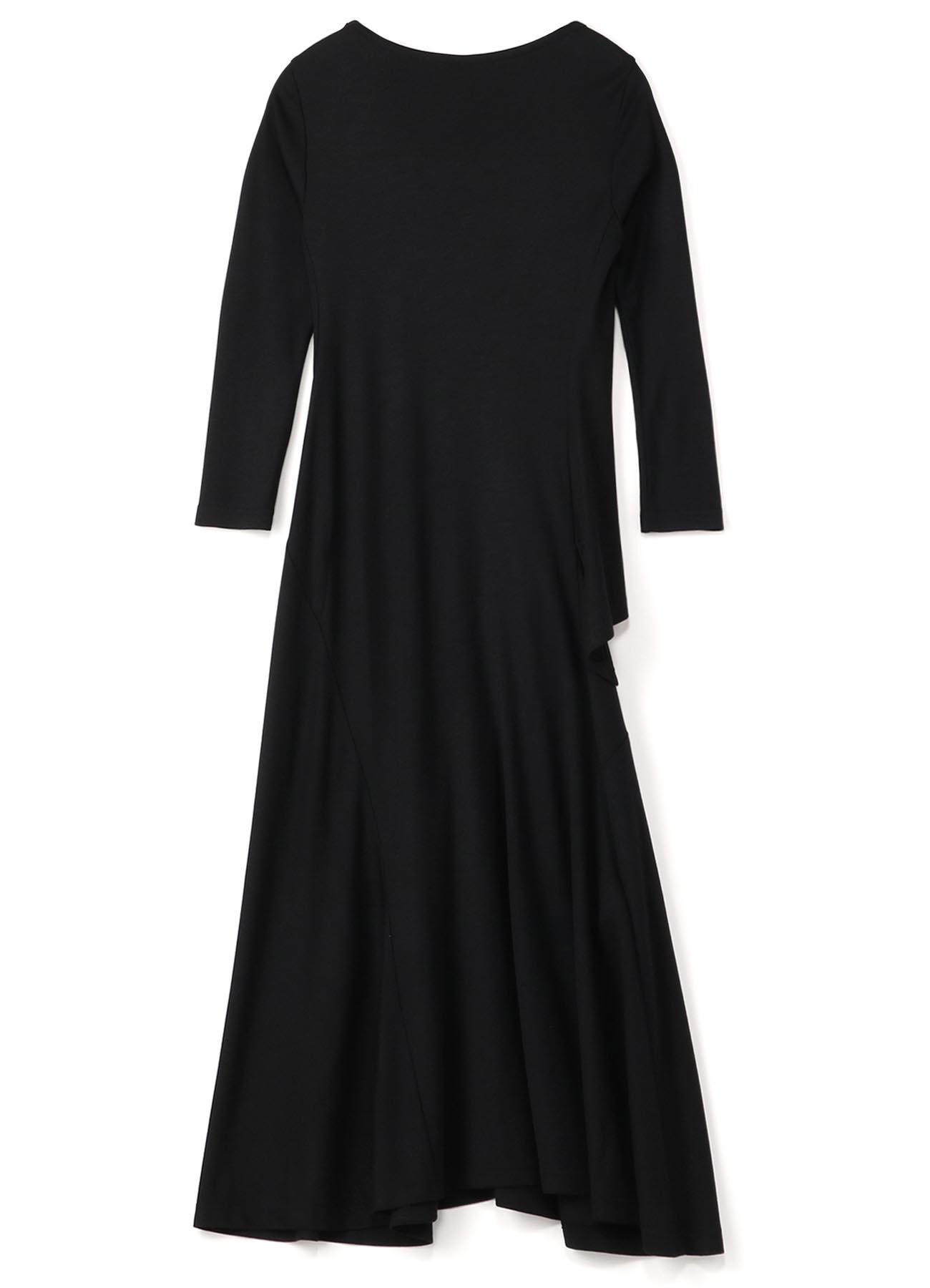 Ry/W OLIVIA SMOOTH CS ASYMME DRESS
