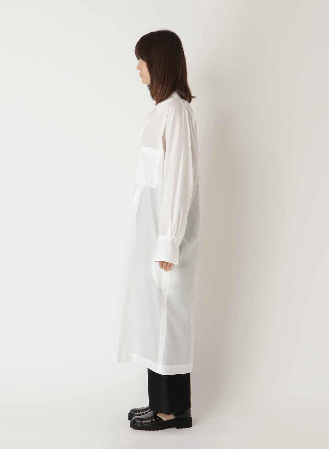 60/1 LAWN CHINA SHIRT DRESS