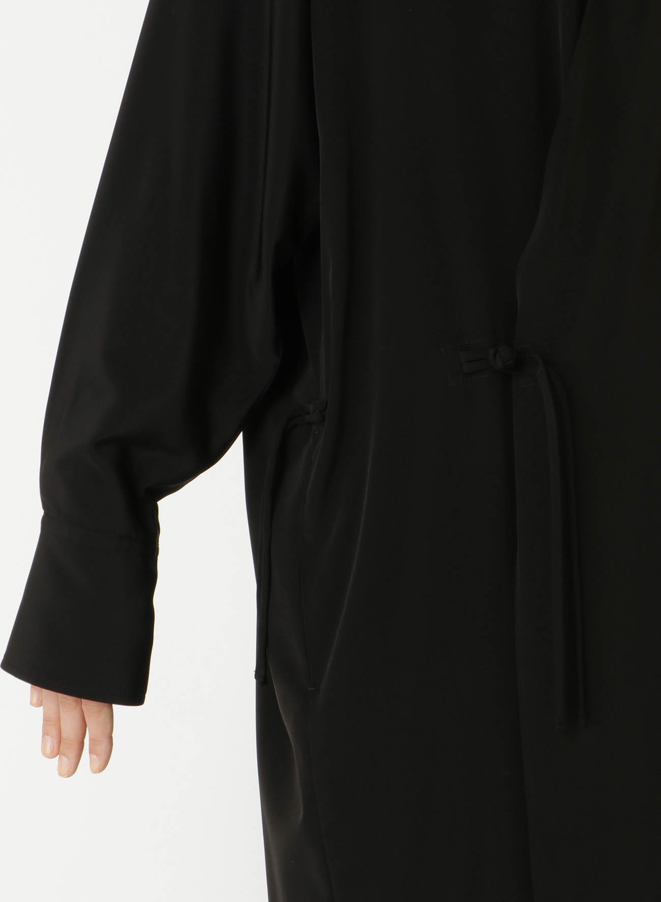 TRIACETATE POLY TUSSAR CHINA SHIRT DRESS