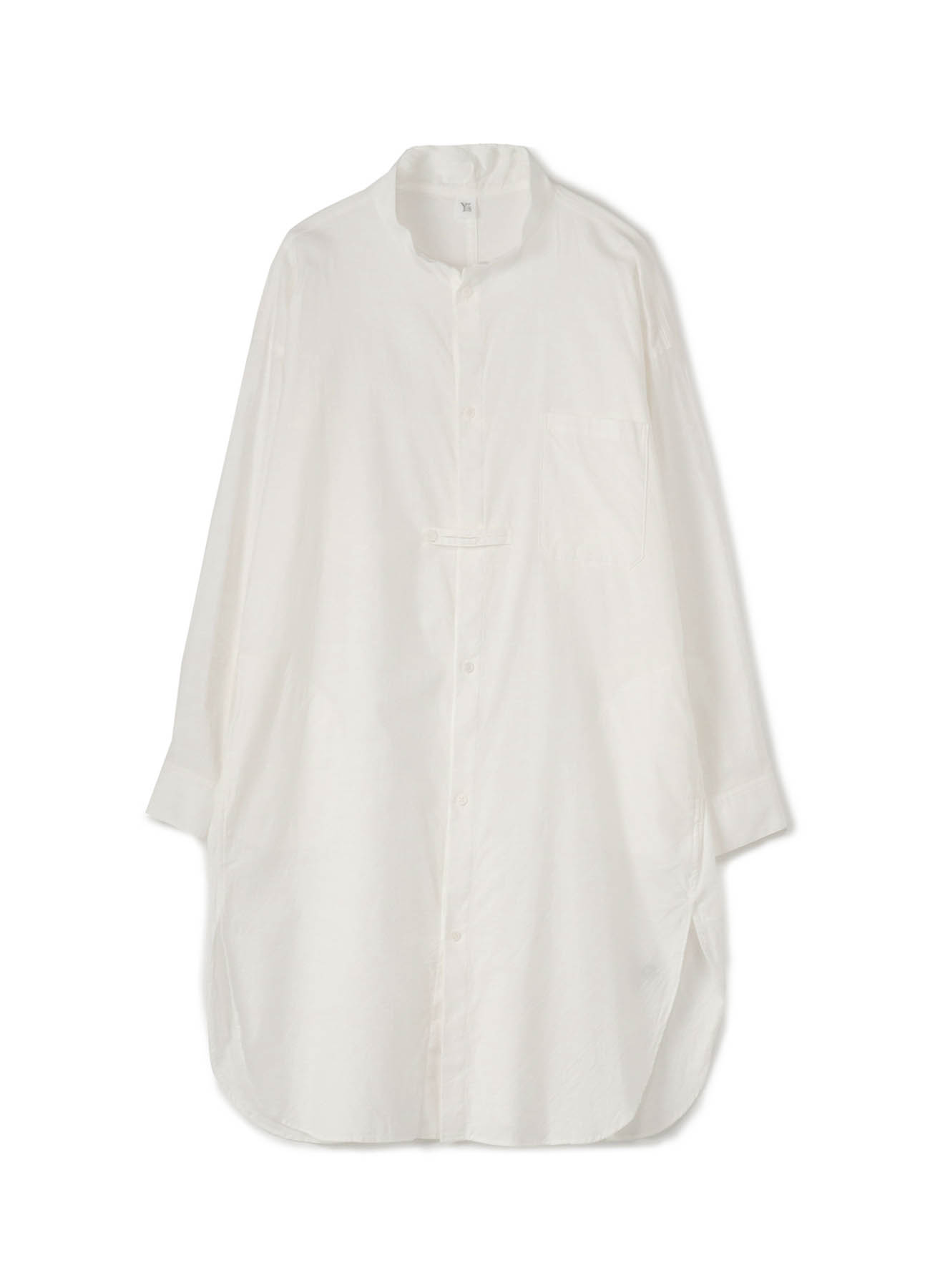 C/ THIN TWILL OUTER SHIRT DRESS