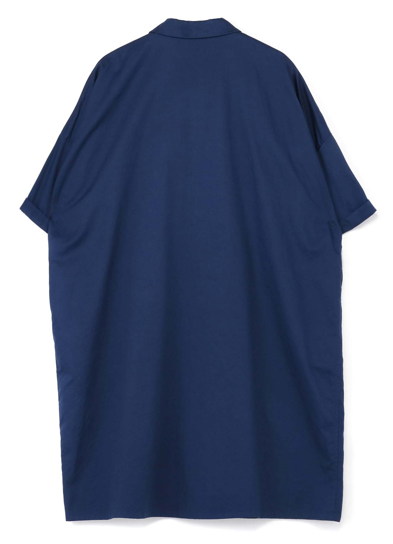TWILL SHORT SLEEVE SHIRT DRESS