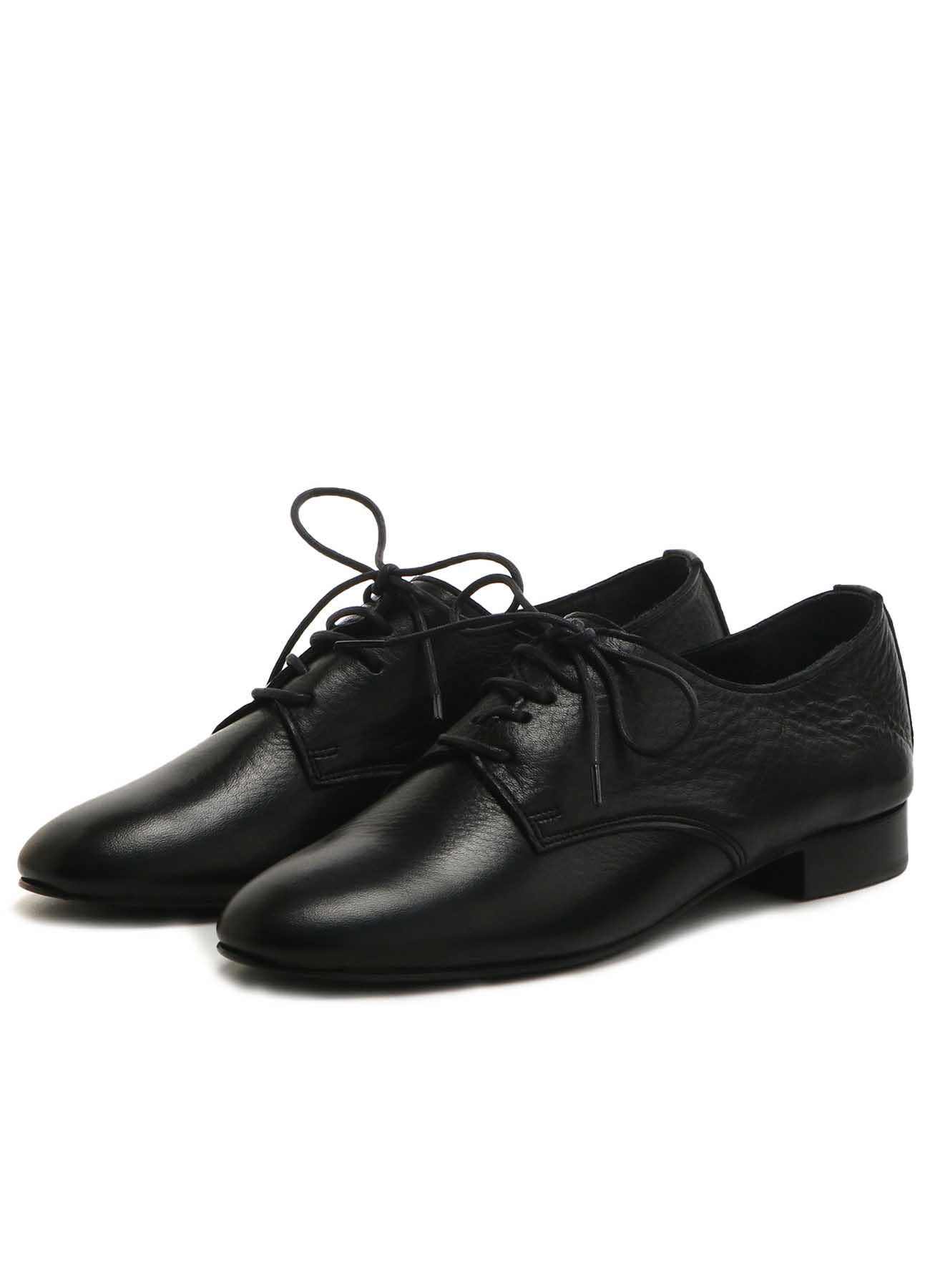 SOFT LEATHER PLAIN TOE SHOES