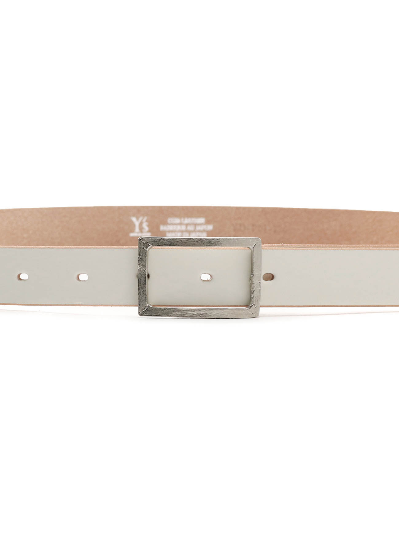 BELT NUME LEATHER 24mm SHARP BUCKLE BELT