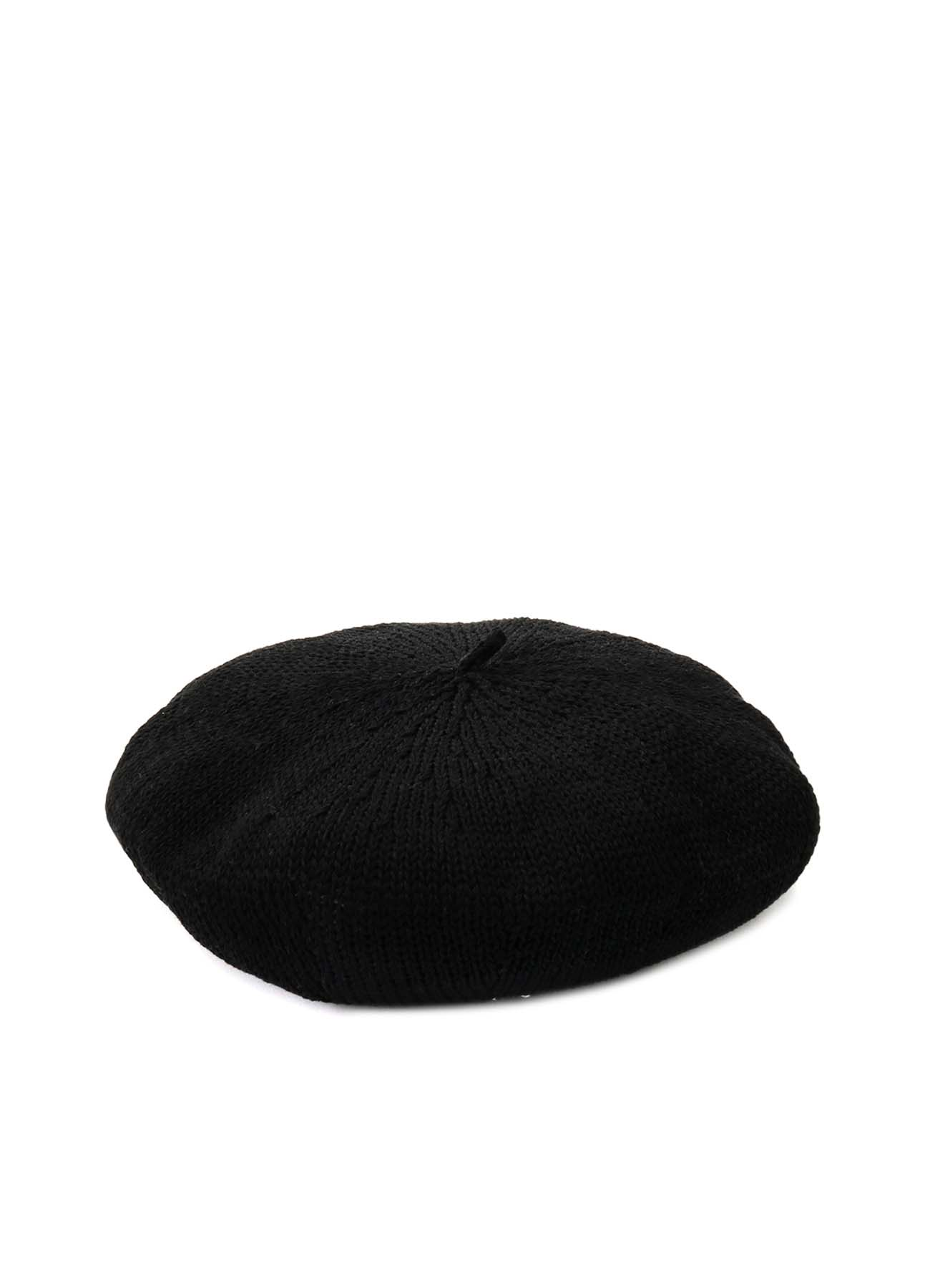 COTTON KNIT BERET