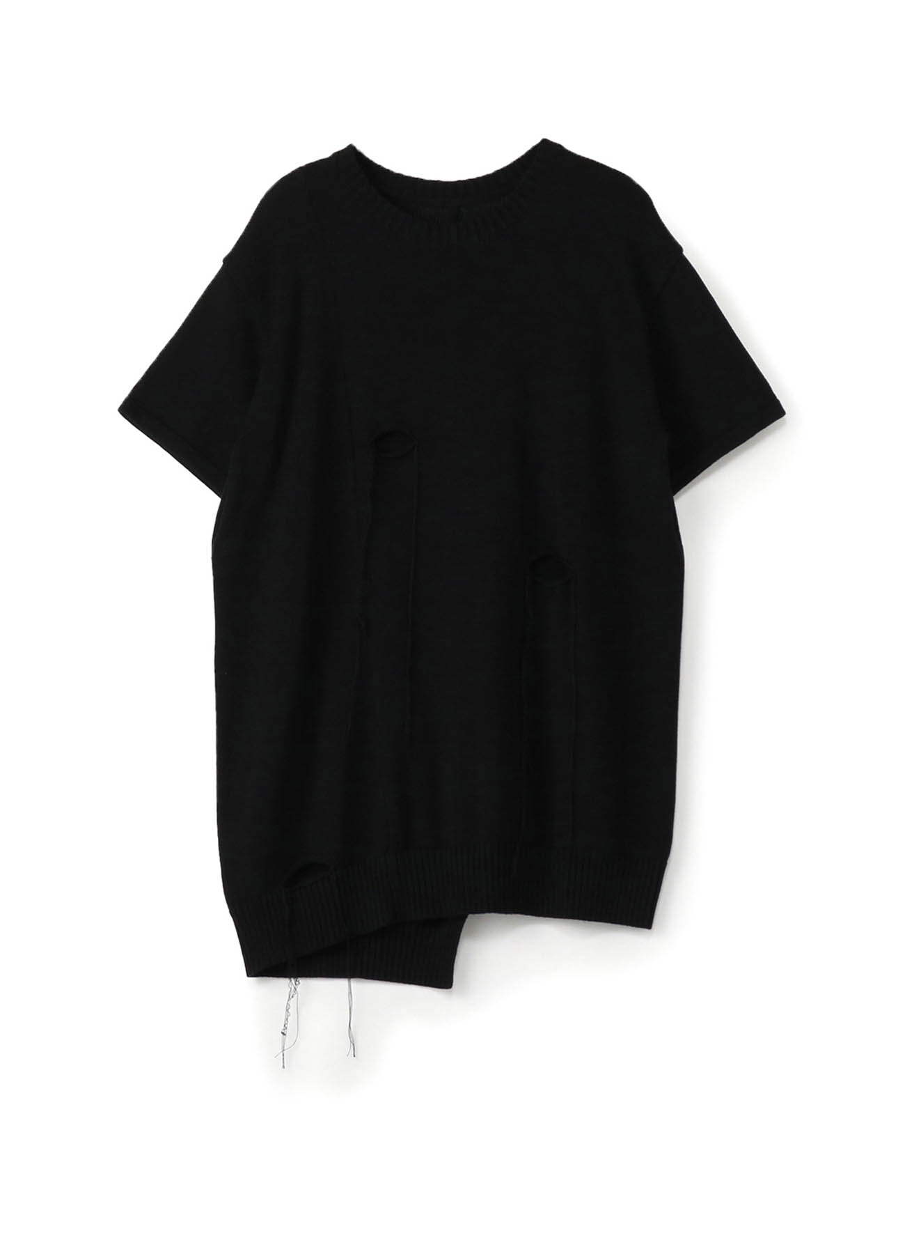7G3P PS HOLE SHORT SLEEVE HOLE KNIT