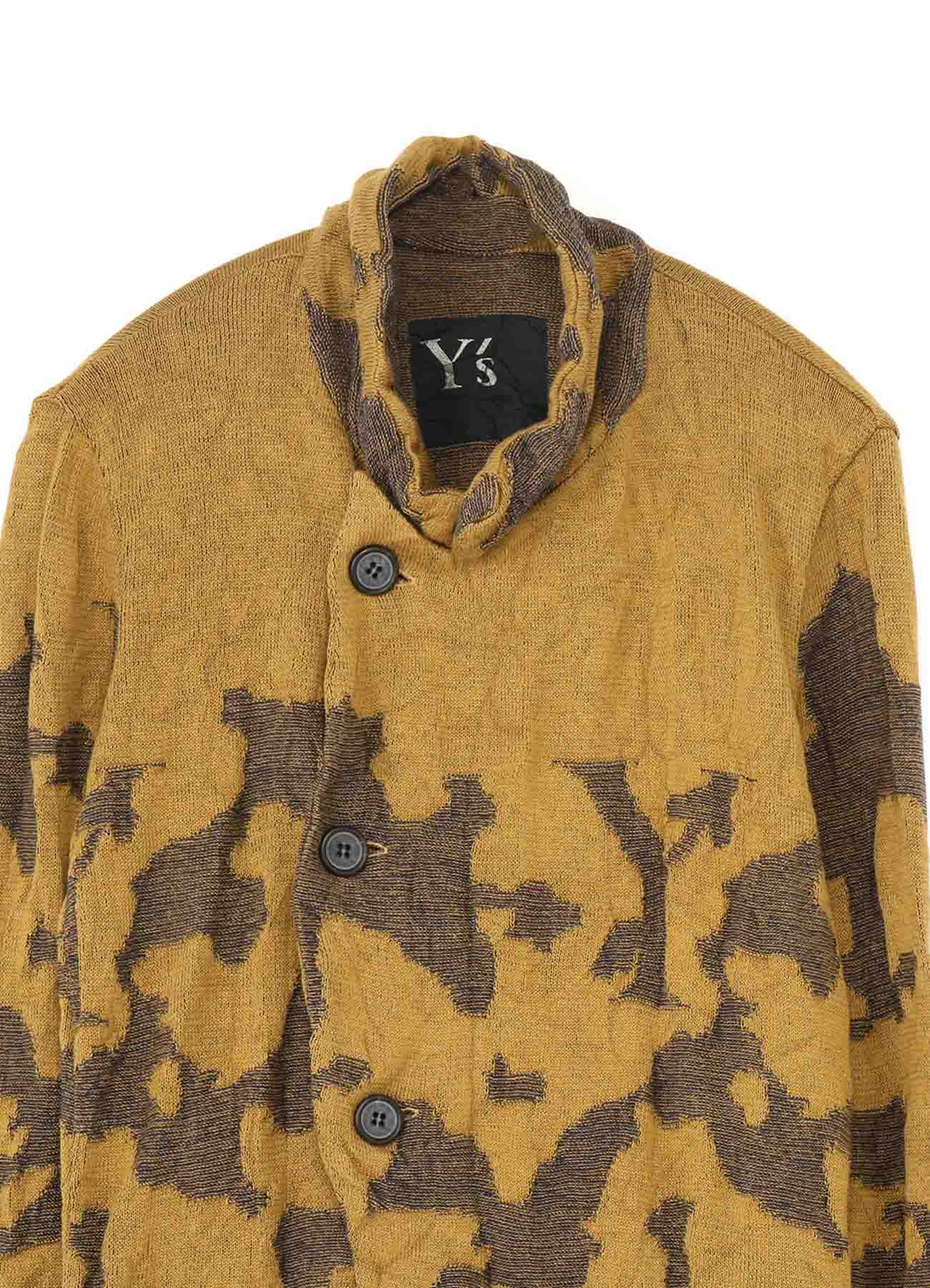 CAMOFLAGE LINKS 4 BUTTONS JACKET