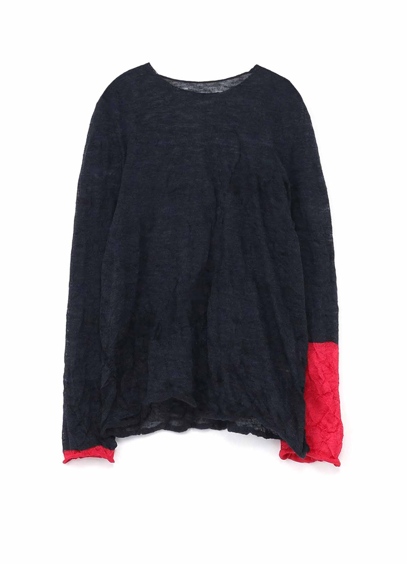JAPAN LINKS ROUND NECK LONG SLEEVE PULLOVER