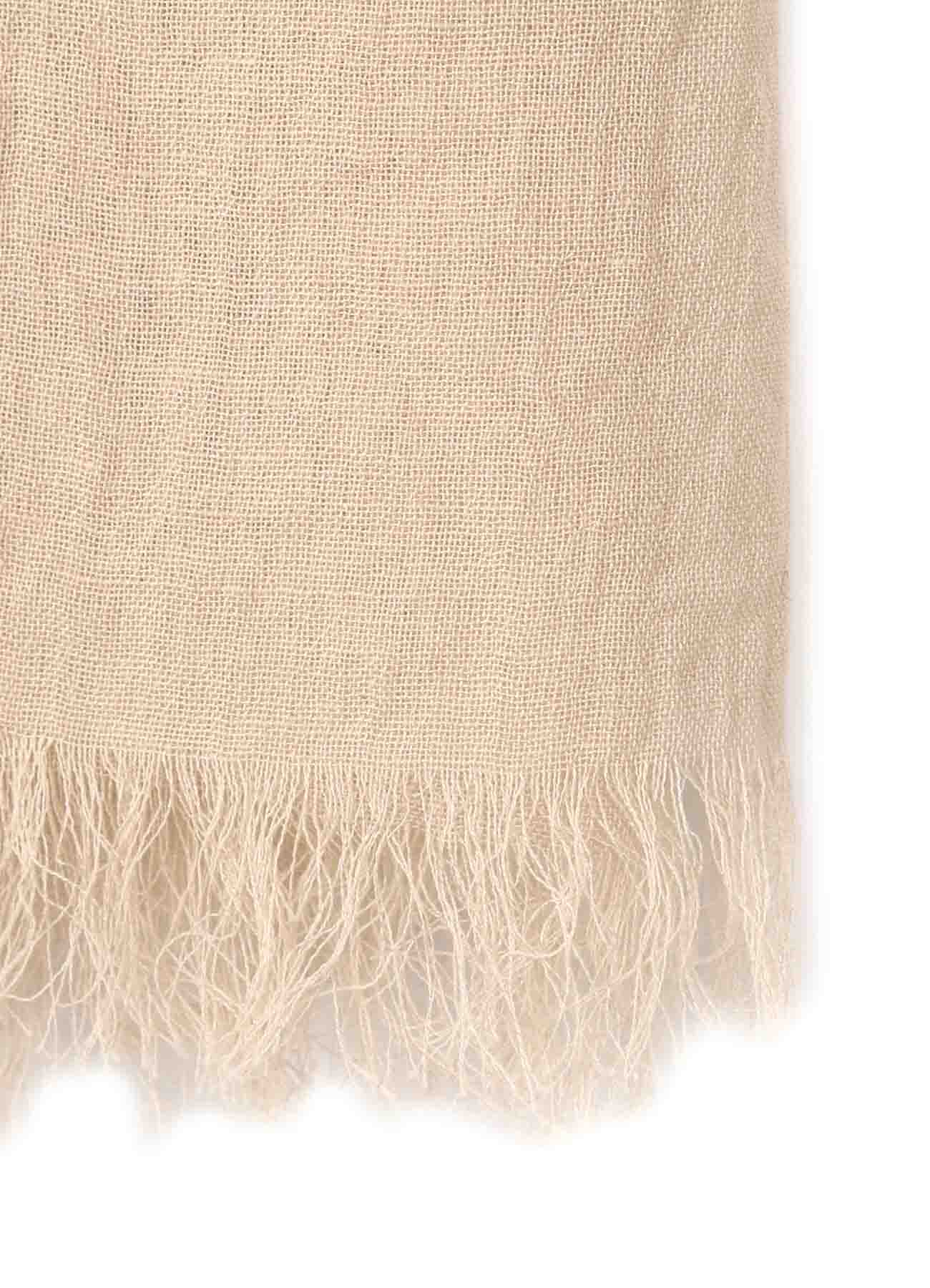 CODE EMBROIDERY SPIRAL STOLE