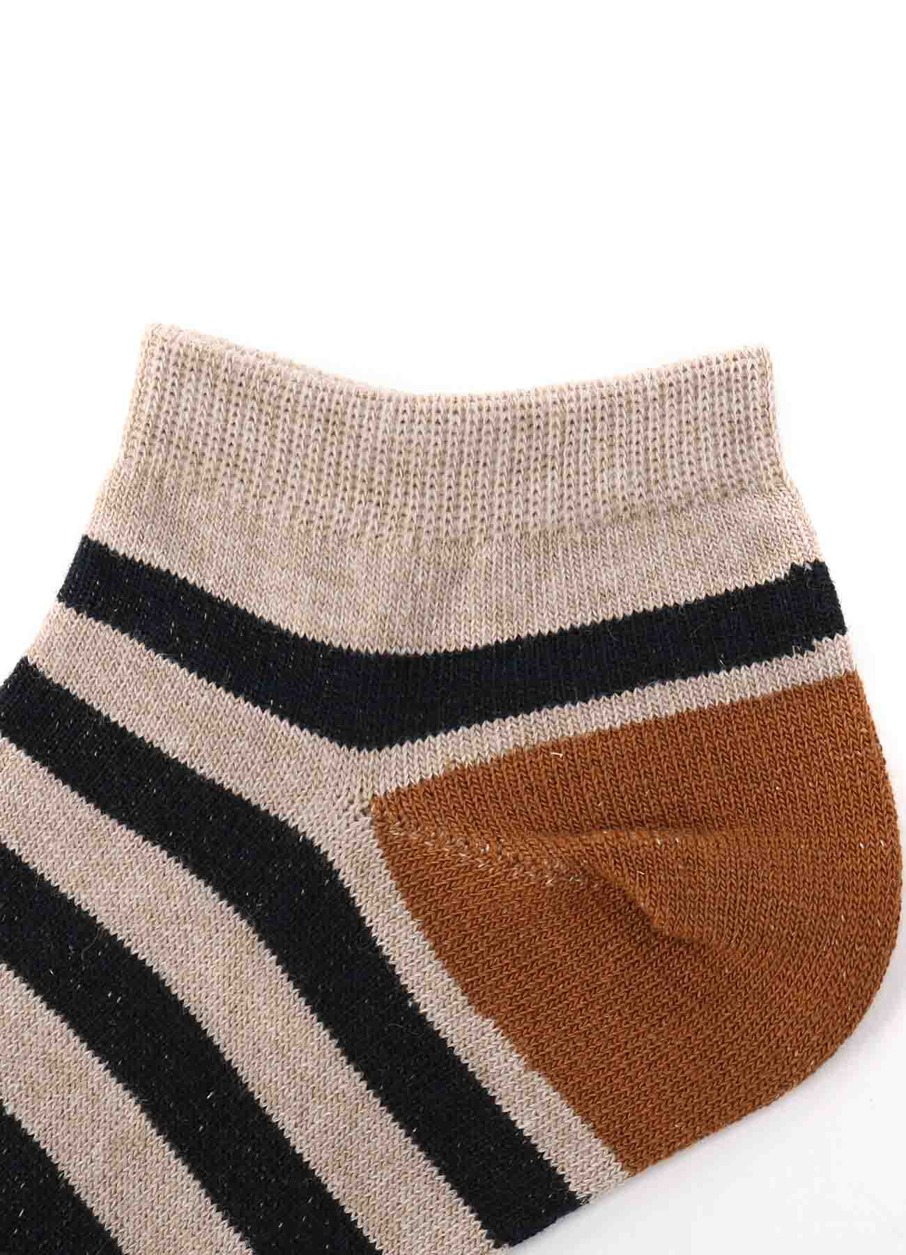 BORDER PS ANKLE SOCKS