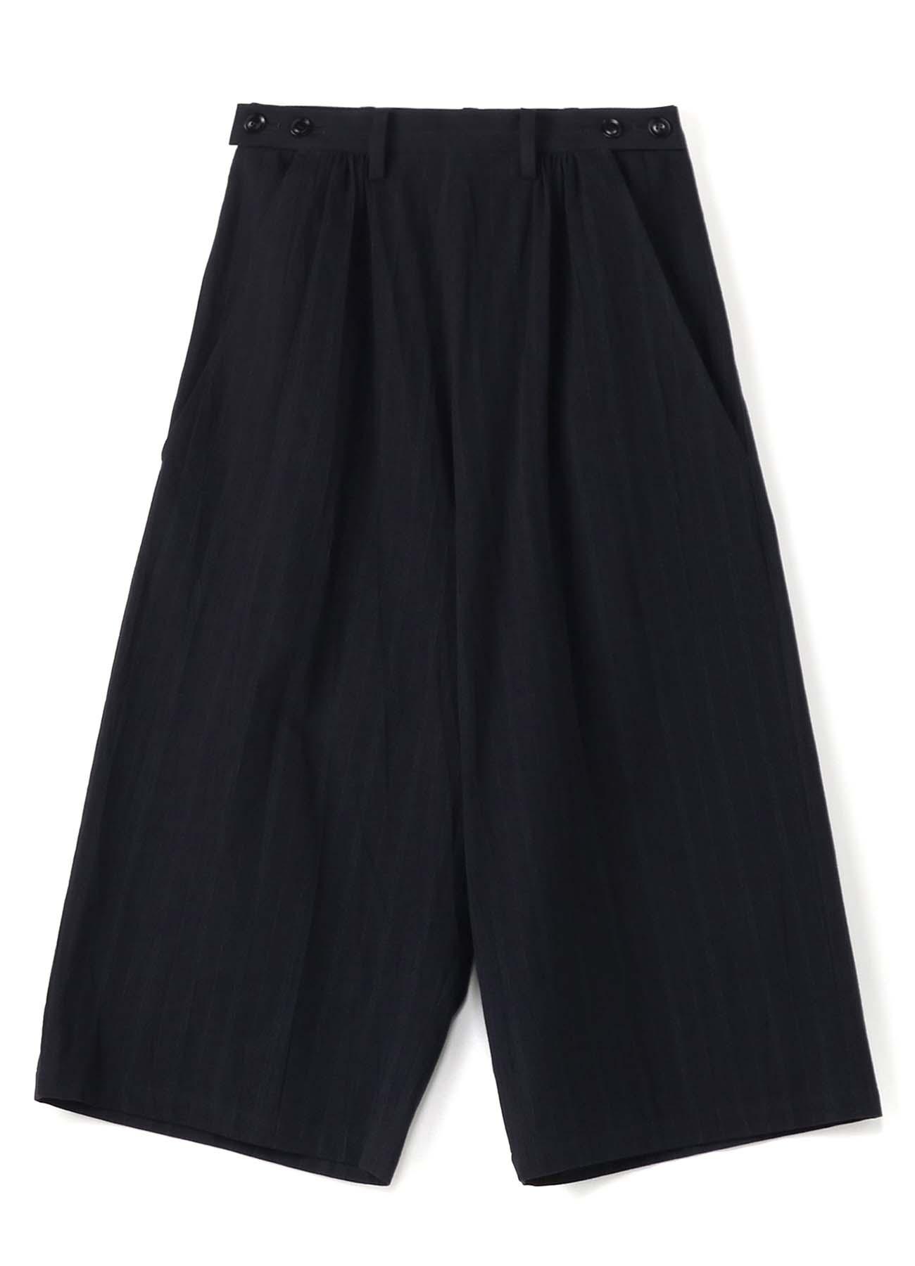 C/STRIPE W BUTTON BIG PANTS