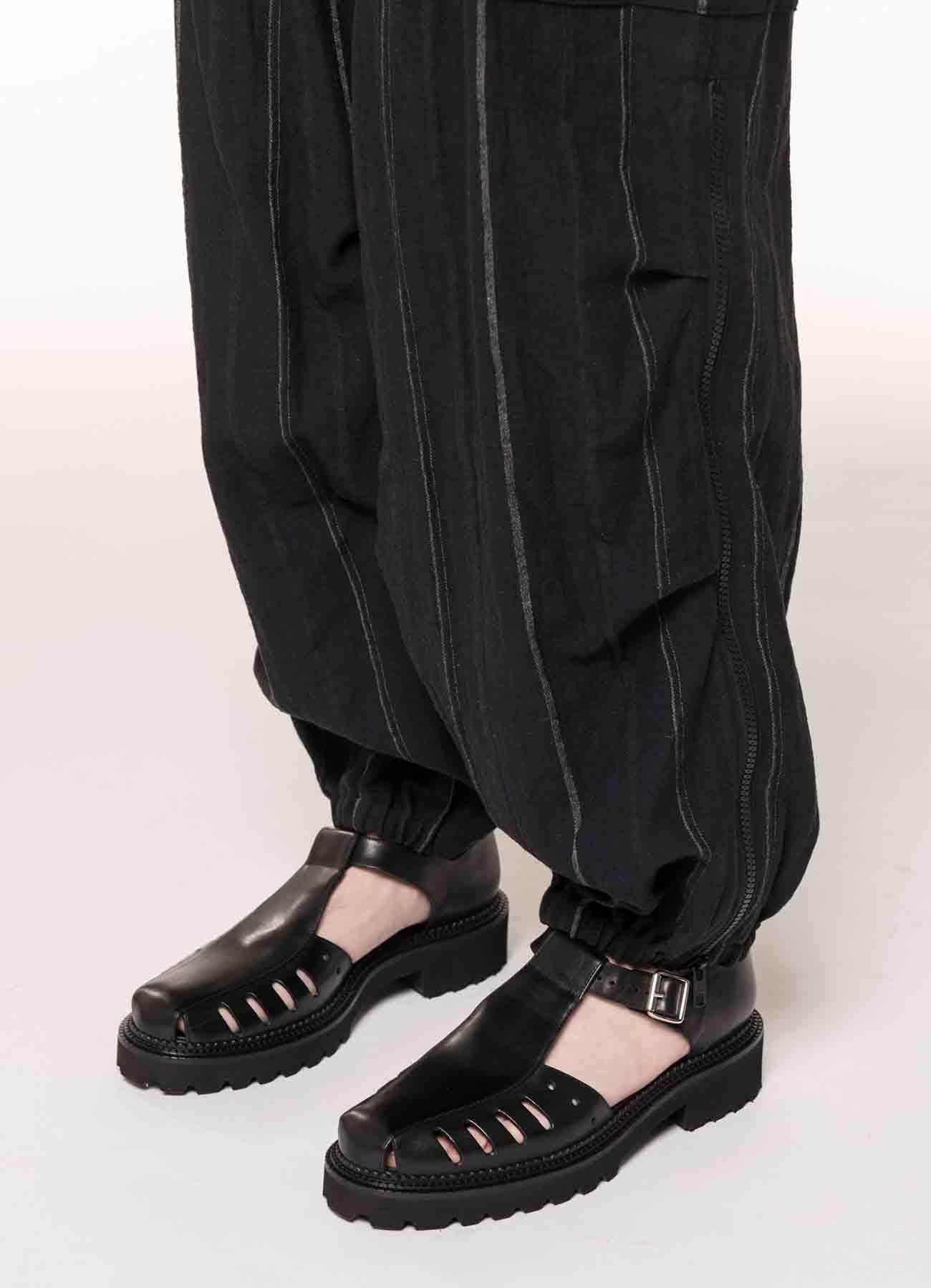 L/C STRIPE CARGO PANTS