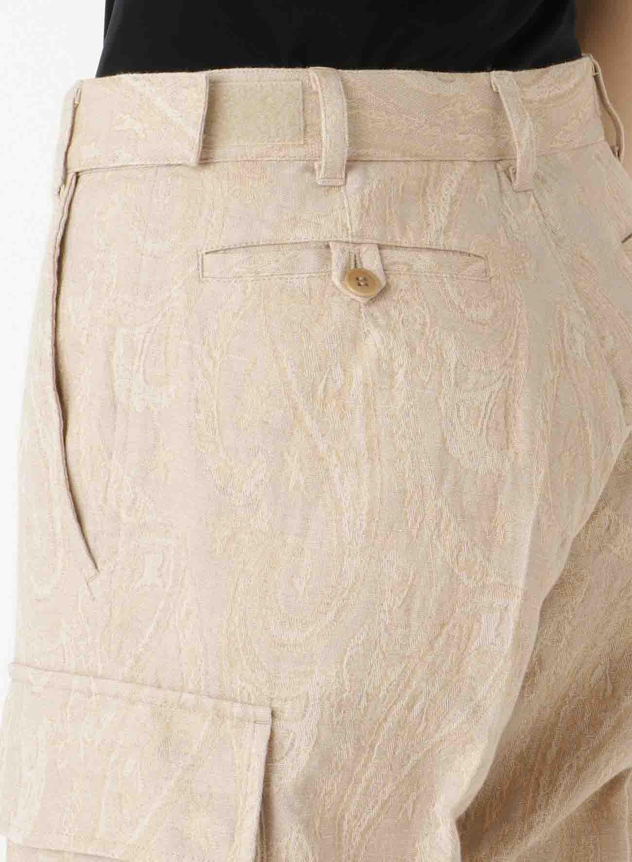 C/Li PAISLEY POCKET PANTS