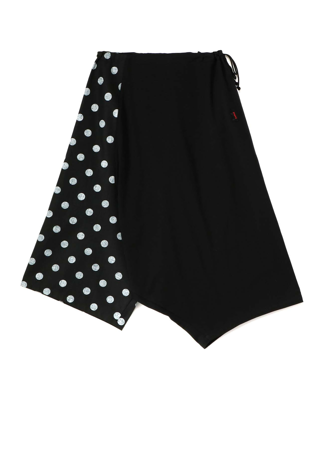 40/2 PS x 20/- TWILL POLKA DOT P PIG FLARE PANTS