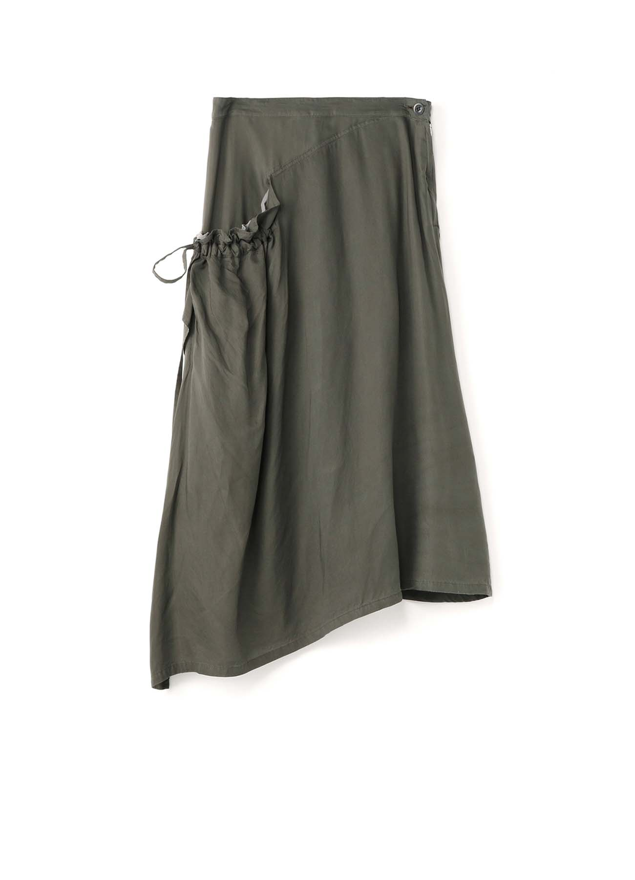 Cu/SPAN TWILL PR DYE RIGHT FLOW FLARED SKIRT