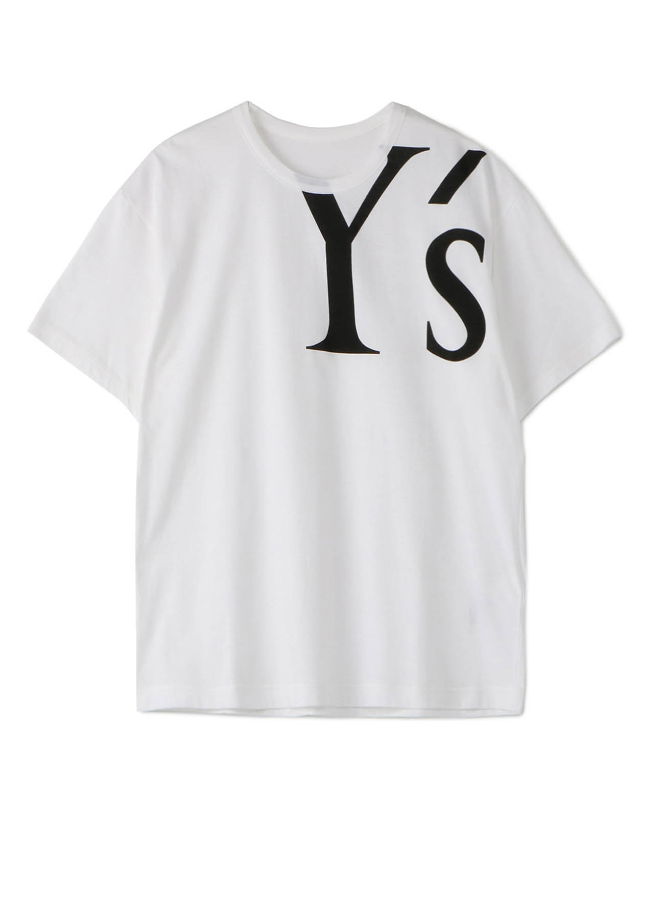 30/- PS Y's LOGO PIGMENT PRINT 2WAY DOLMAN SLEEVE OP