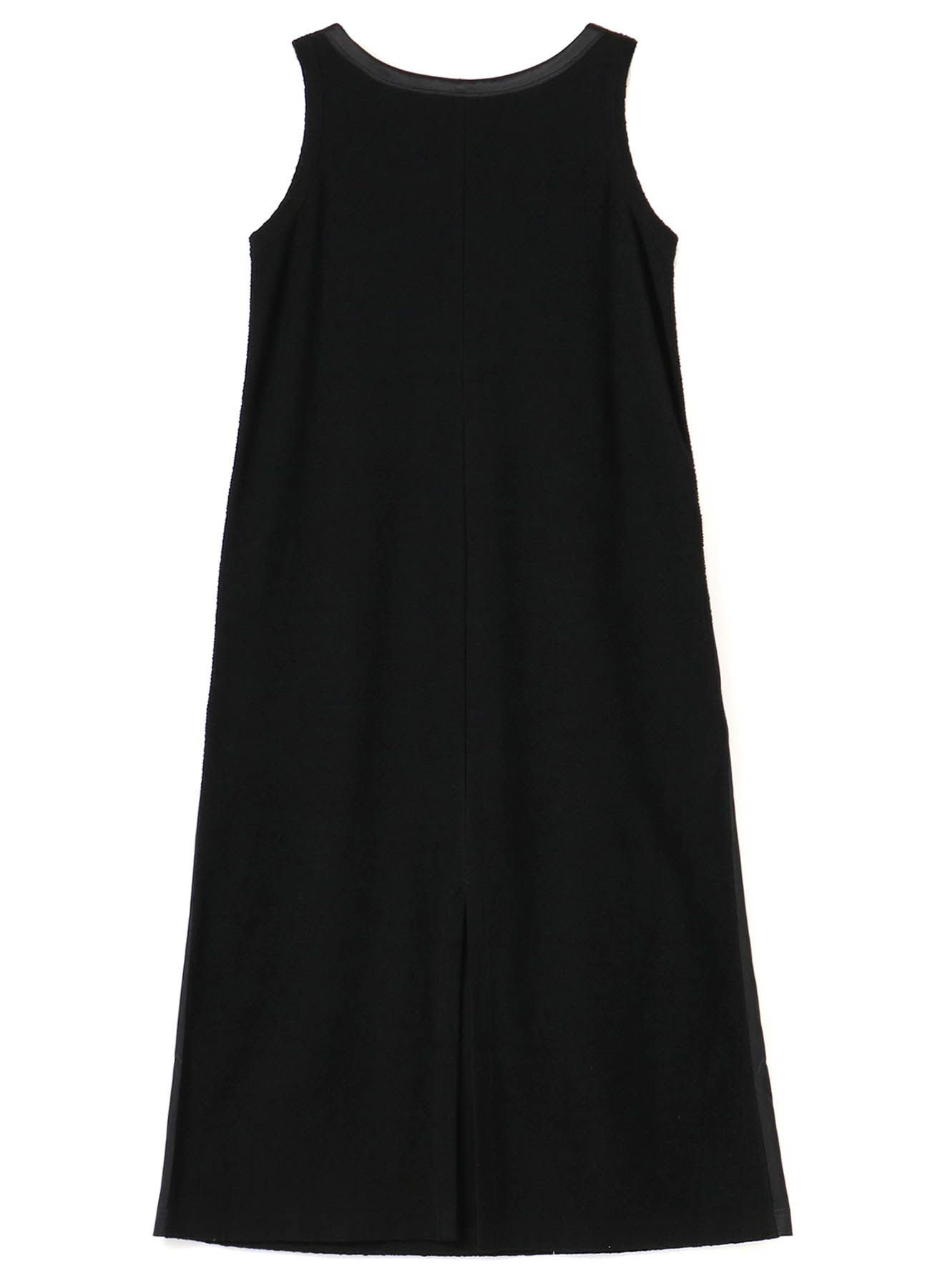 RANDOM PILE SLEEVELESS DRESS