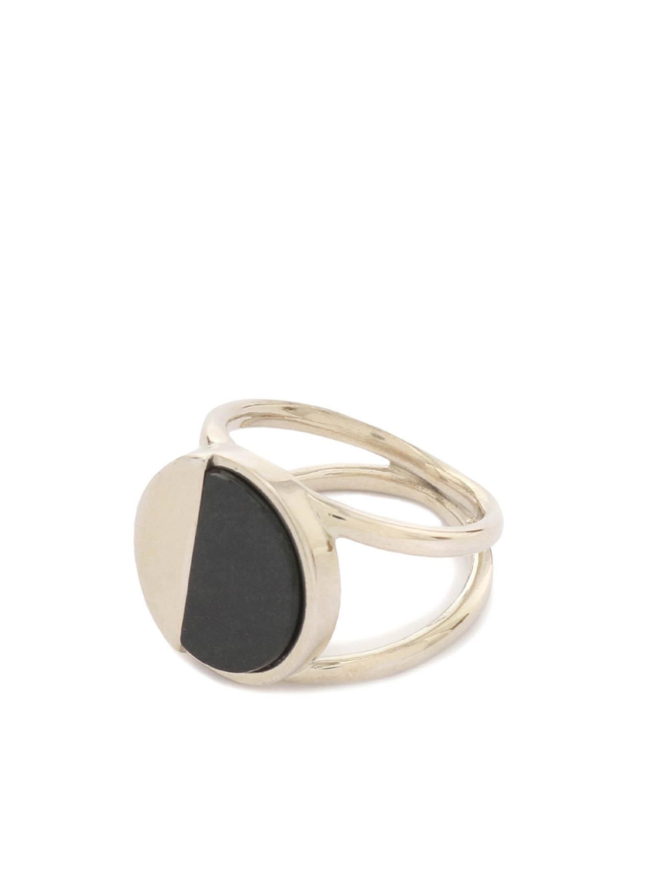925银 半圆戒指