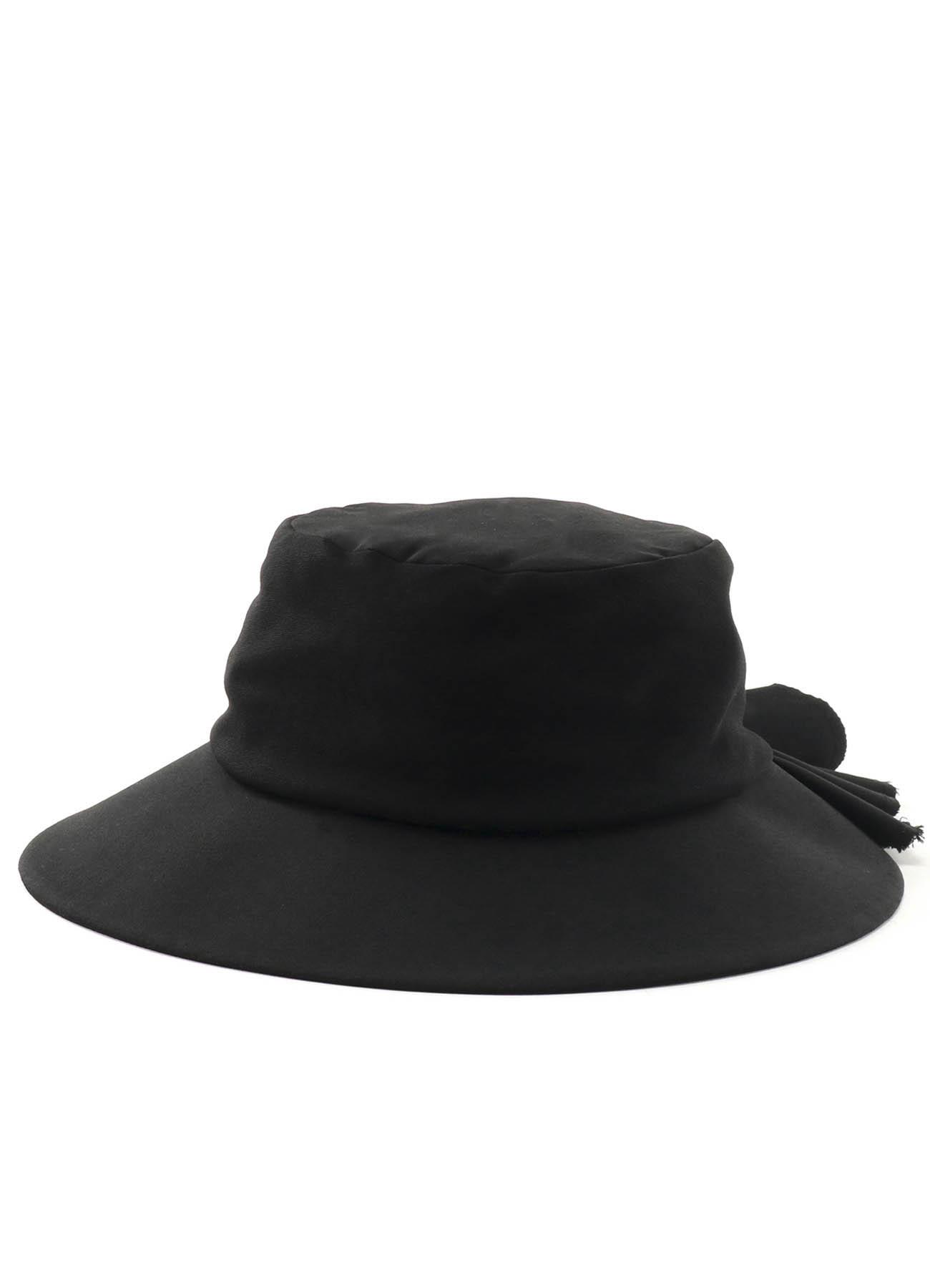 轧别丁褶边帽