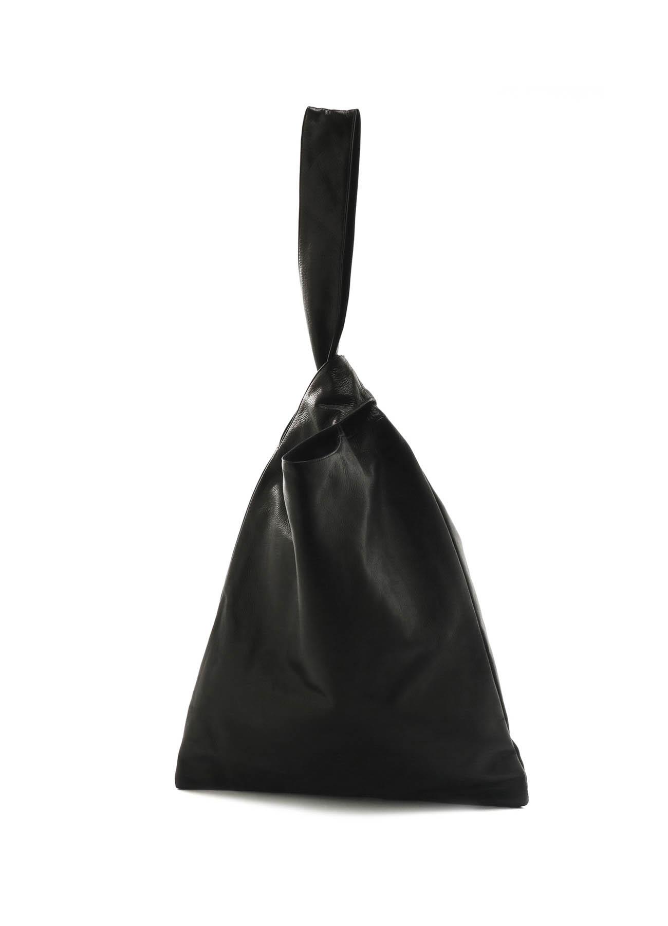 柔软皮革单手提包