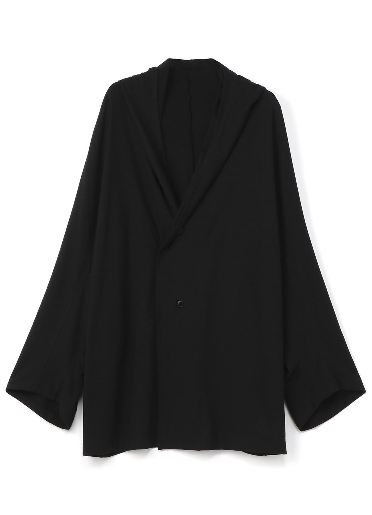 棉麻混纺宽松夹克