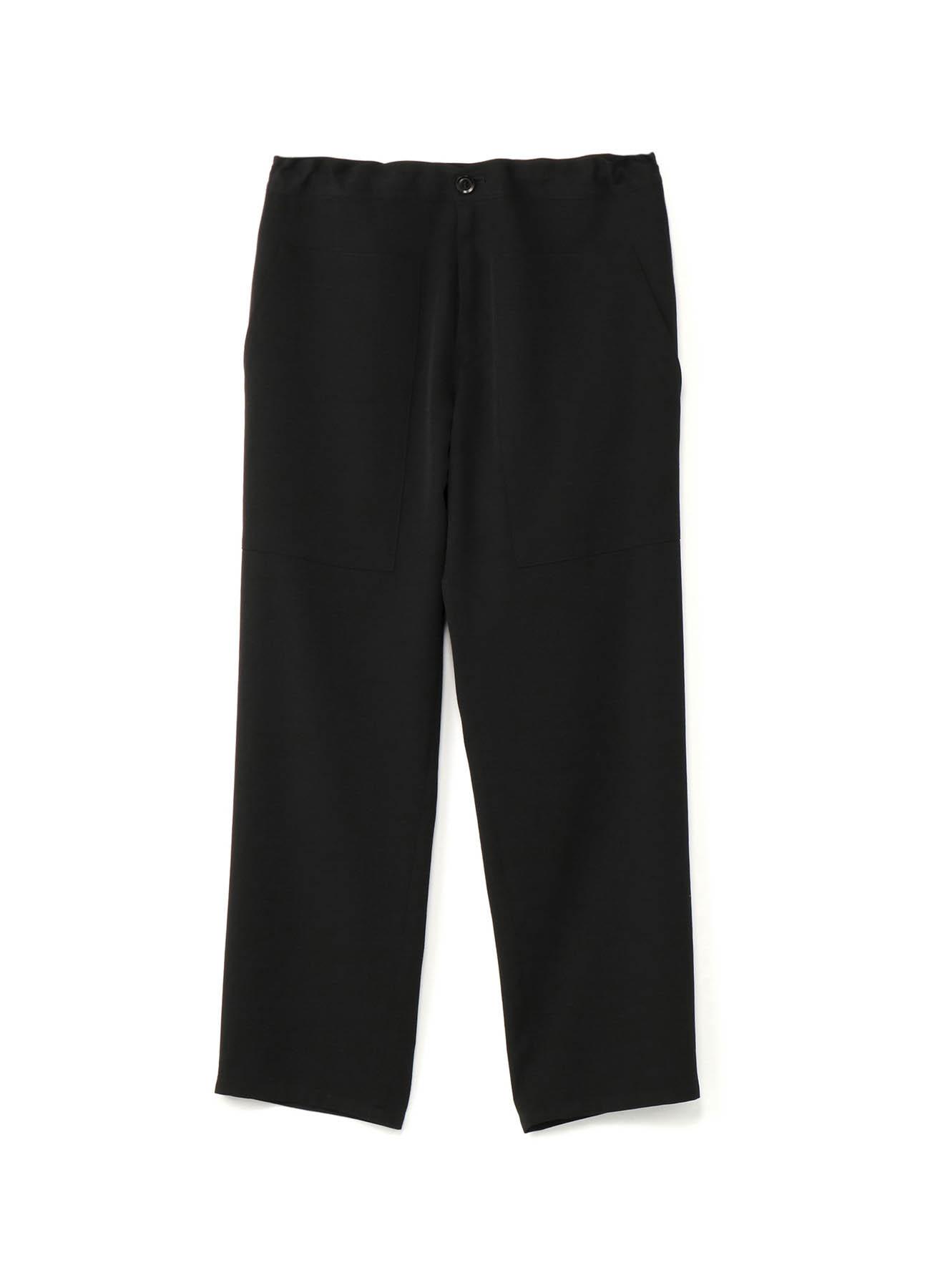 Gabardine三分袖长裤