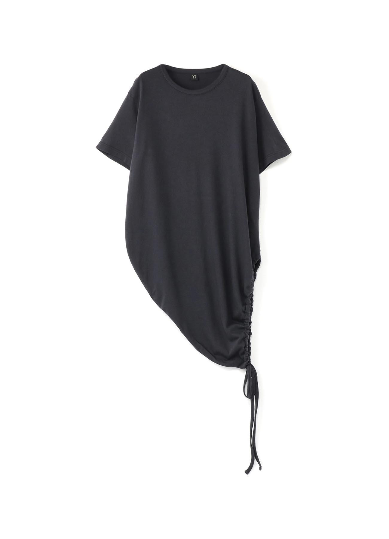 纯棉抽绳T恤