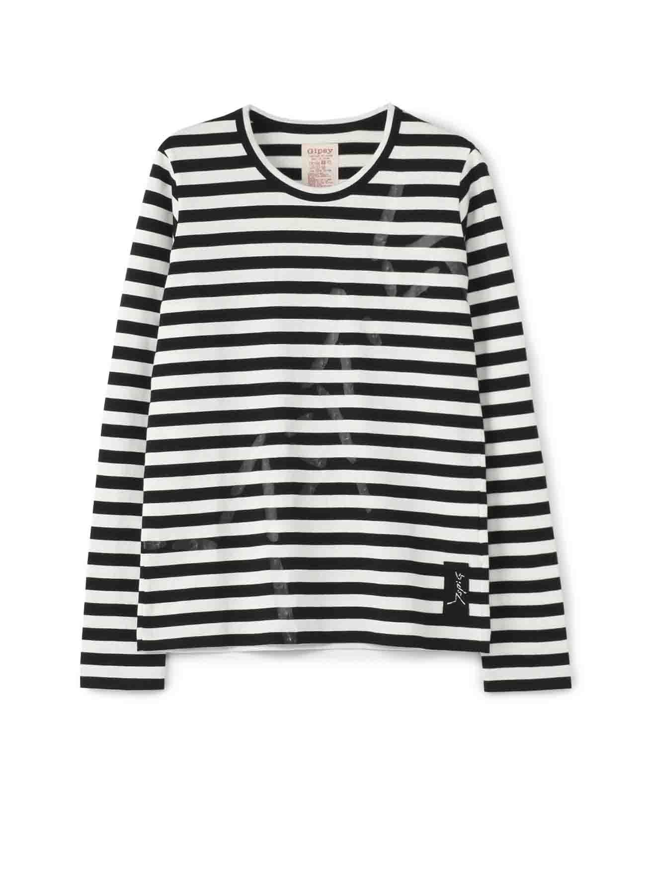 Gipsy WAX顔料印花长袖T恤