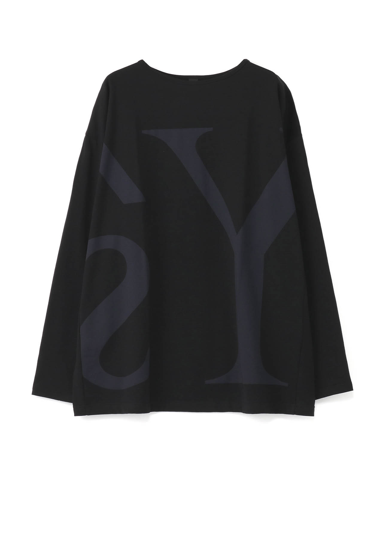 Y's Print Fleece Fabric Cut & Sewn Long Sleeve