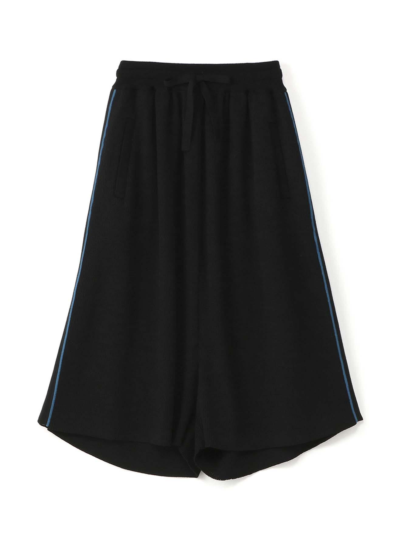 RISMATbyY's 裤线配色羊毛宽裤