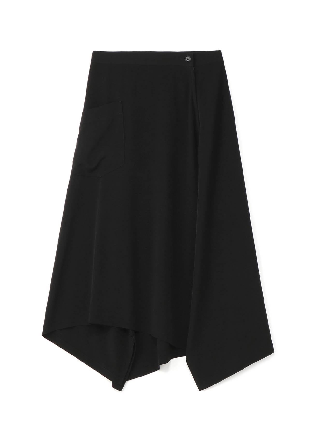 デシン 三角フレアスカート