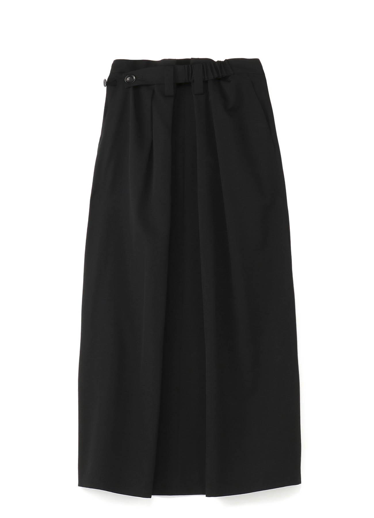 Y'sPINK シワギャバ ベルトスカート