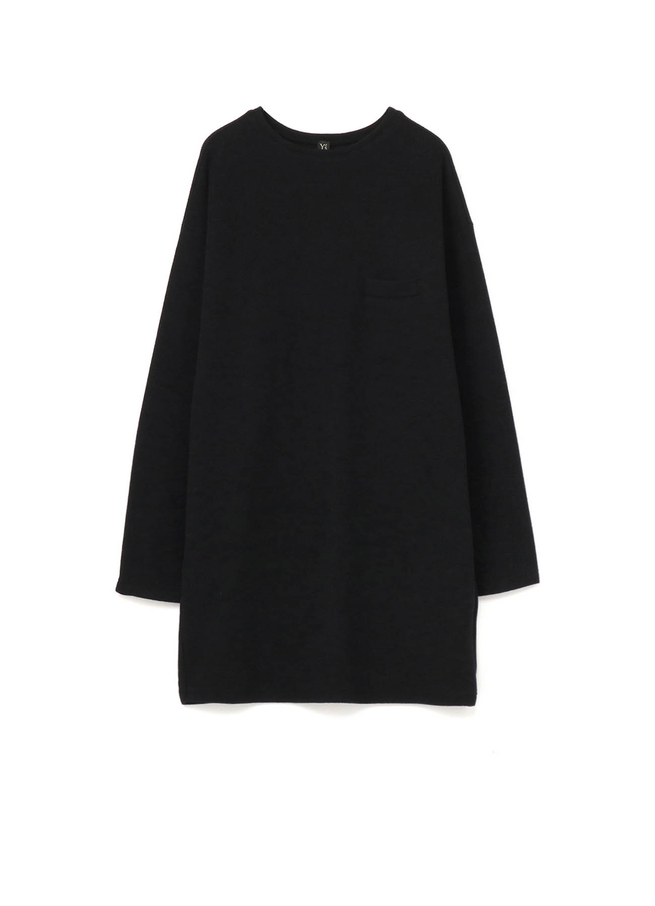 DOUBLE FACE LONG PULLOVER