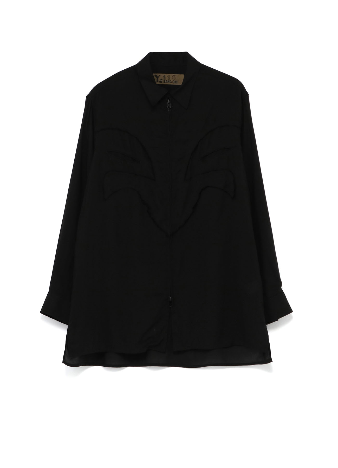 Y's BANG ON!No.119 Western switching-Blouse Rayon lawn