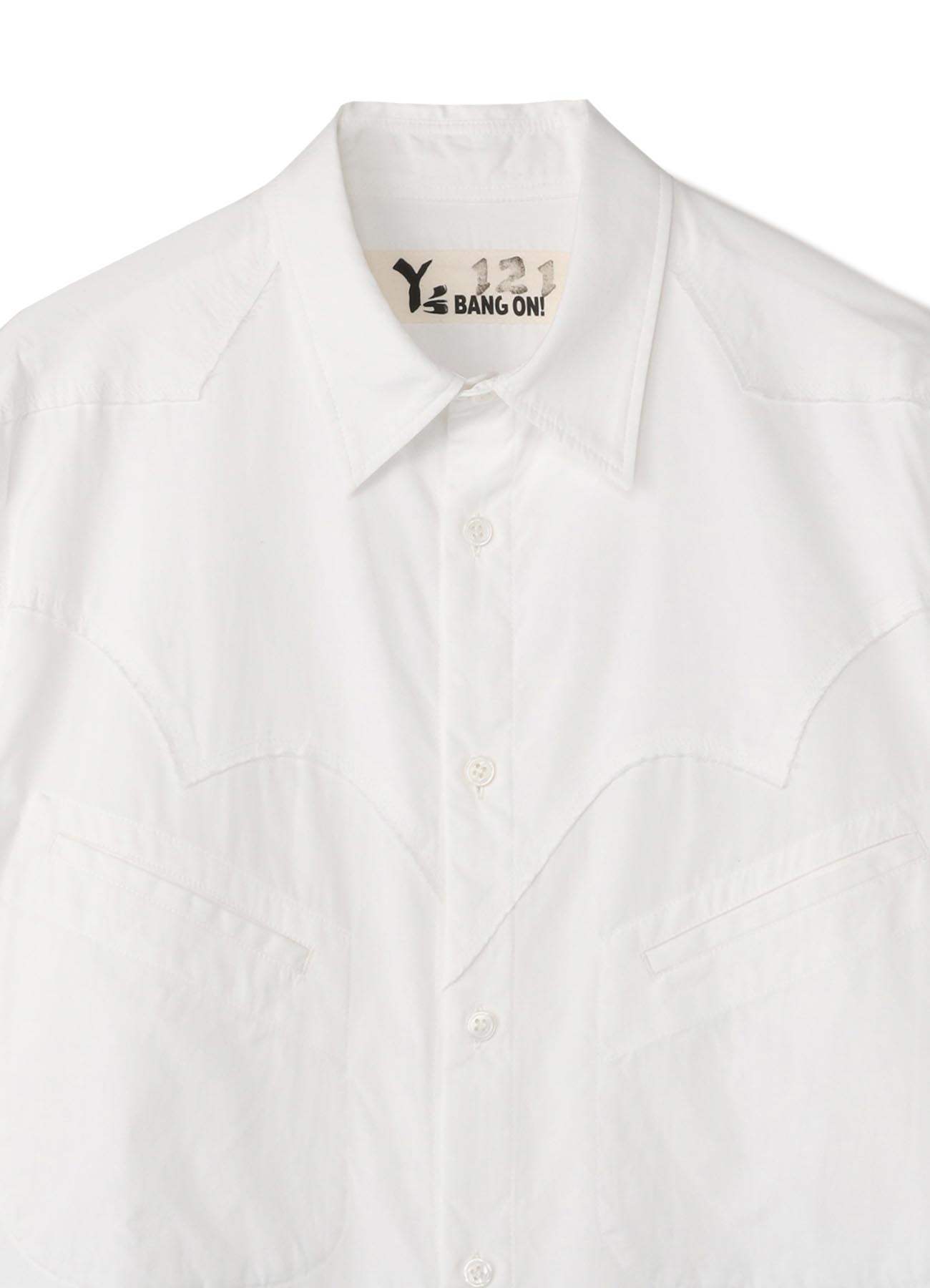 Y's BANG ON!No.121 Western style-shirts Cotton broad