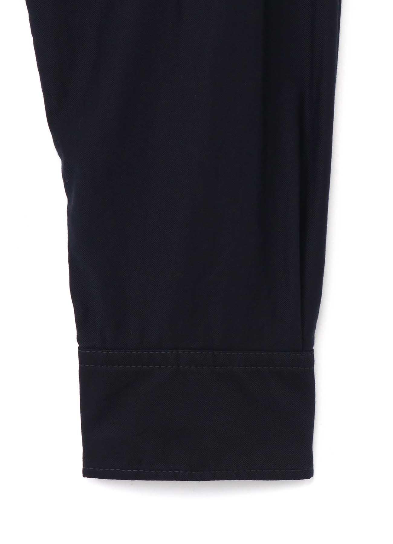 Y's BANG ON!No.123 Zipper pocket-shirts Cotton twill