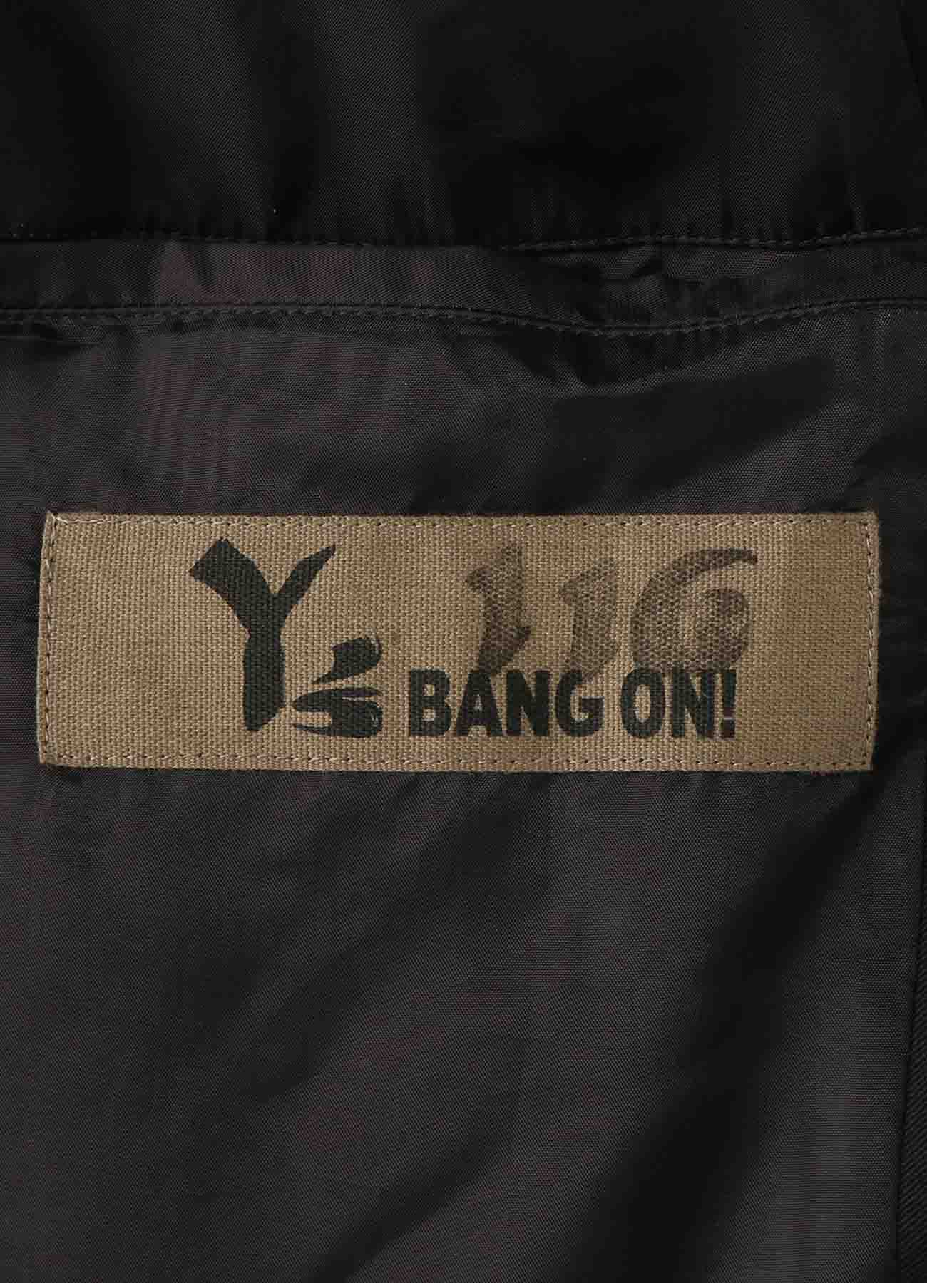 Y's BANG ON!No.116 Western style-jacket Cotton twill
