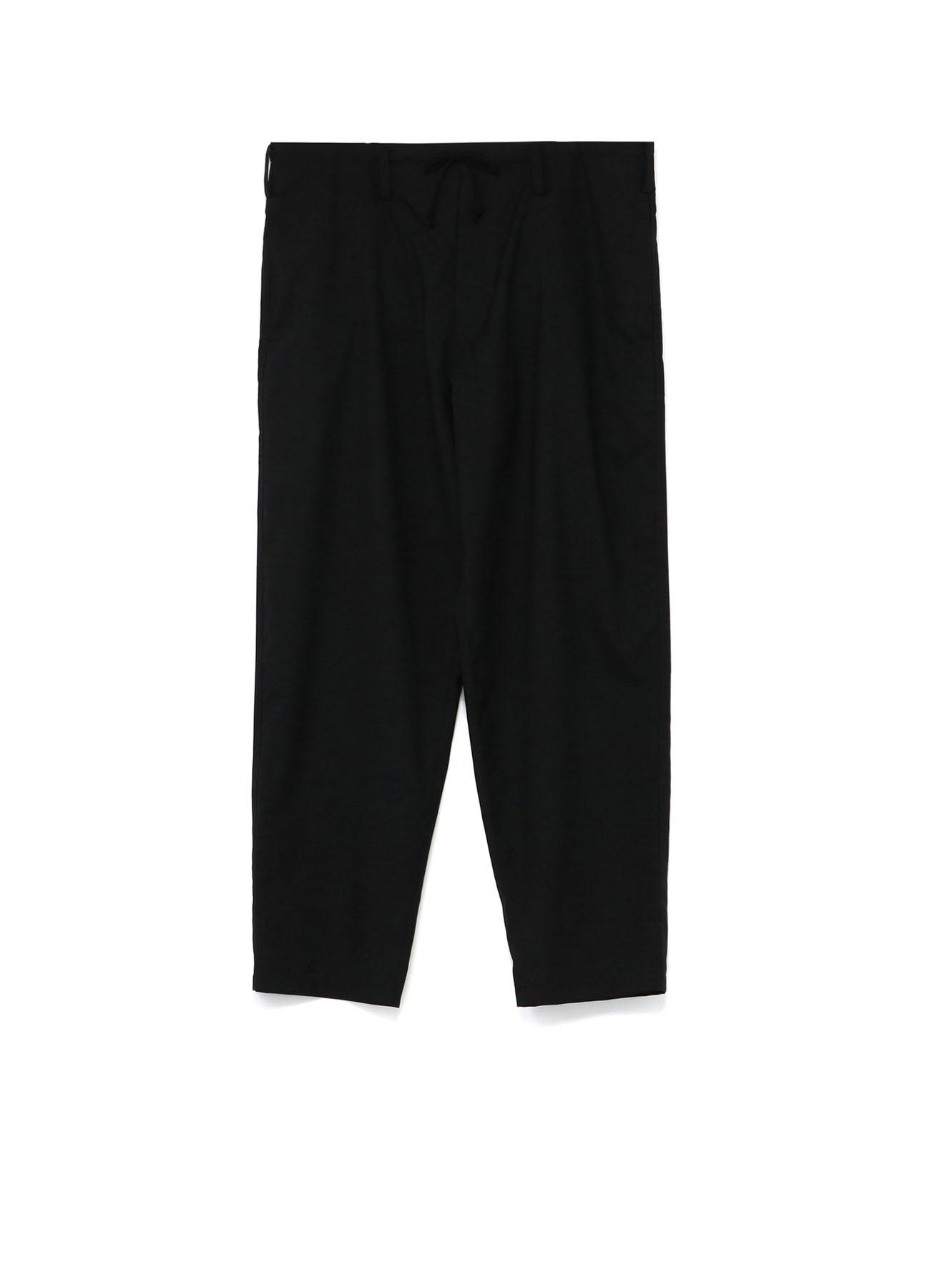 Y's BANG ON!No.7 Waist string-Pants Wool tropical