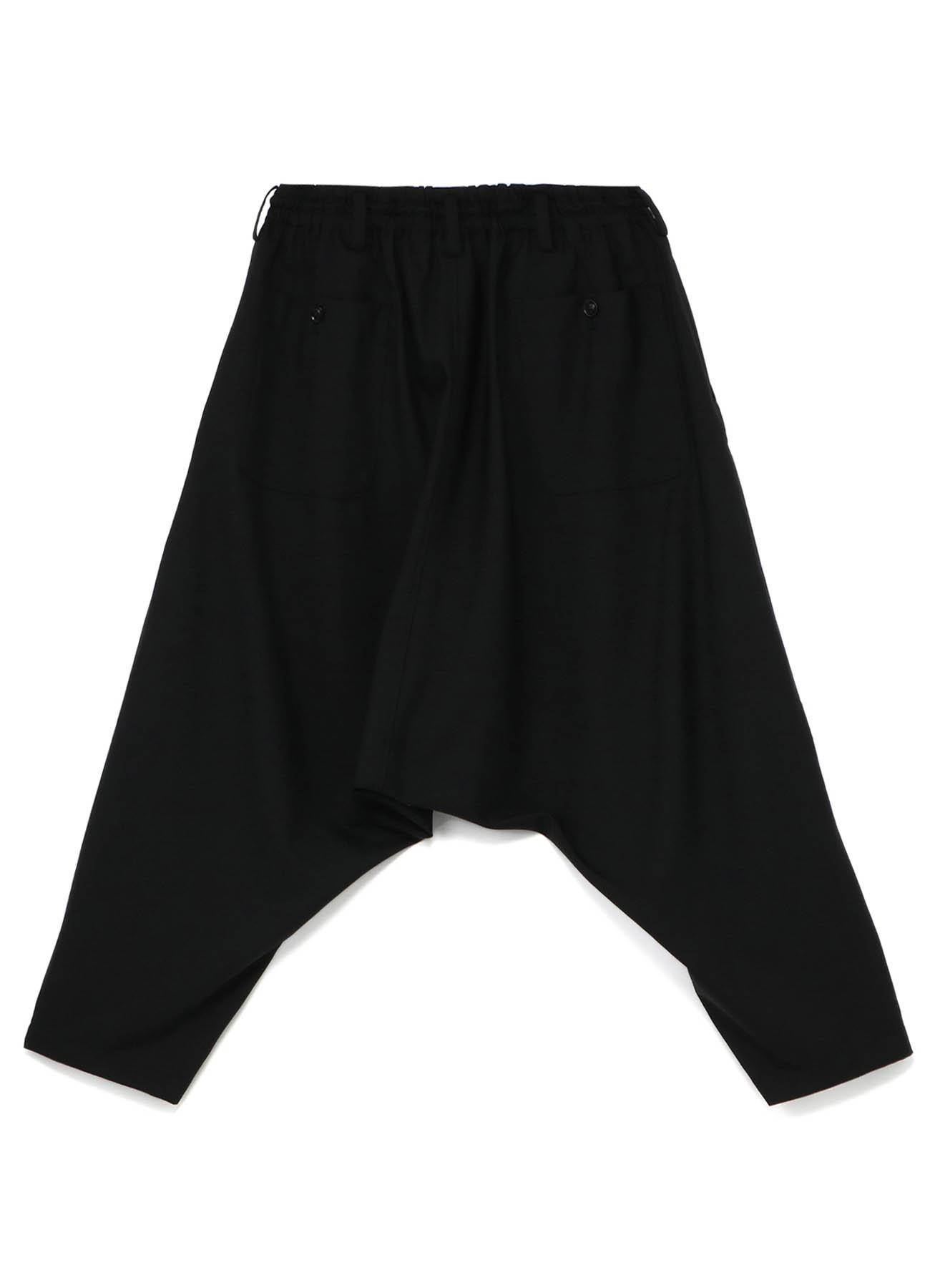 Y's BANG ON!No.9 Sarouel-Pants Wool tropical