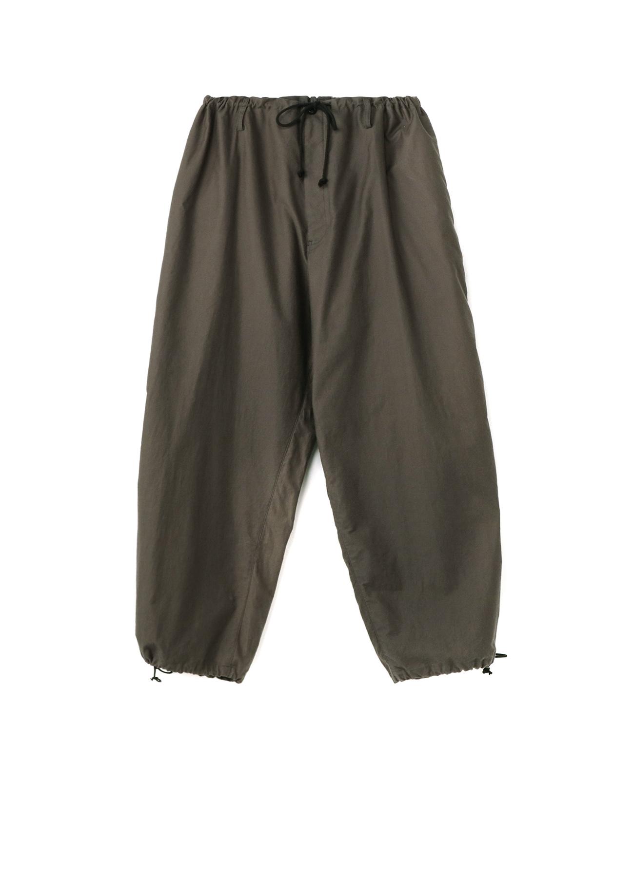 Y's BANG ON!No.129 Big work-pants Cotton twill