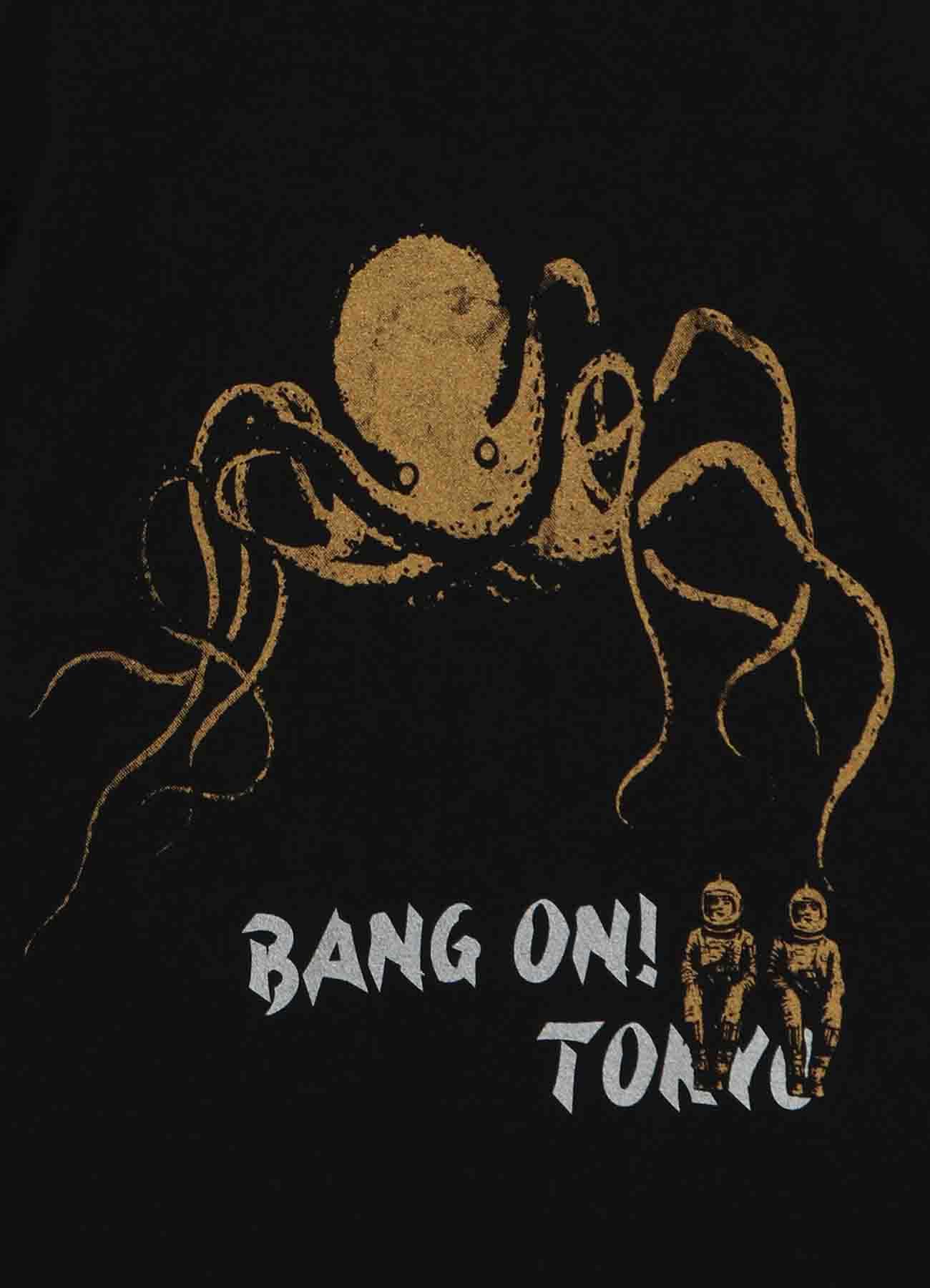 BANG ON!TOKYO  Octopus T-shirts