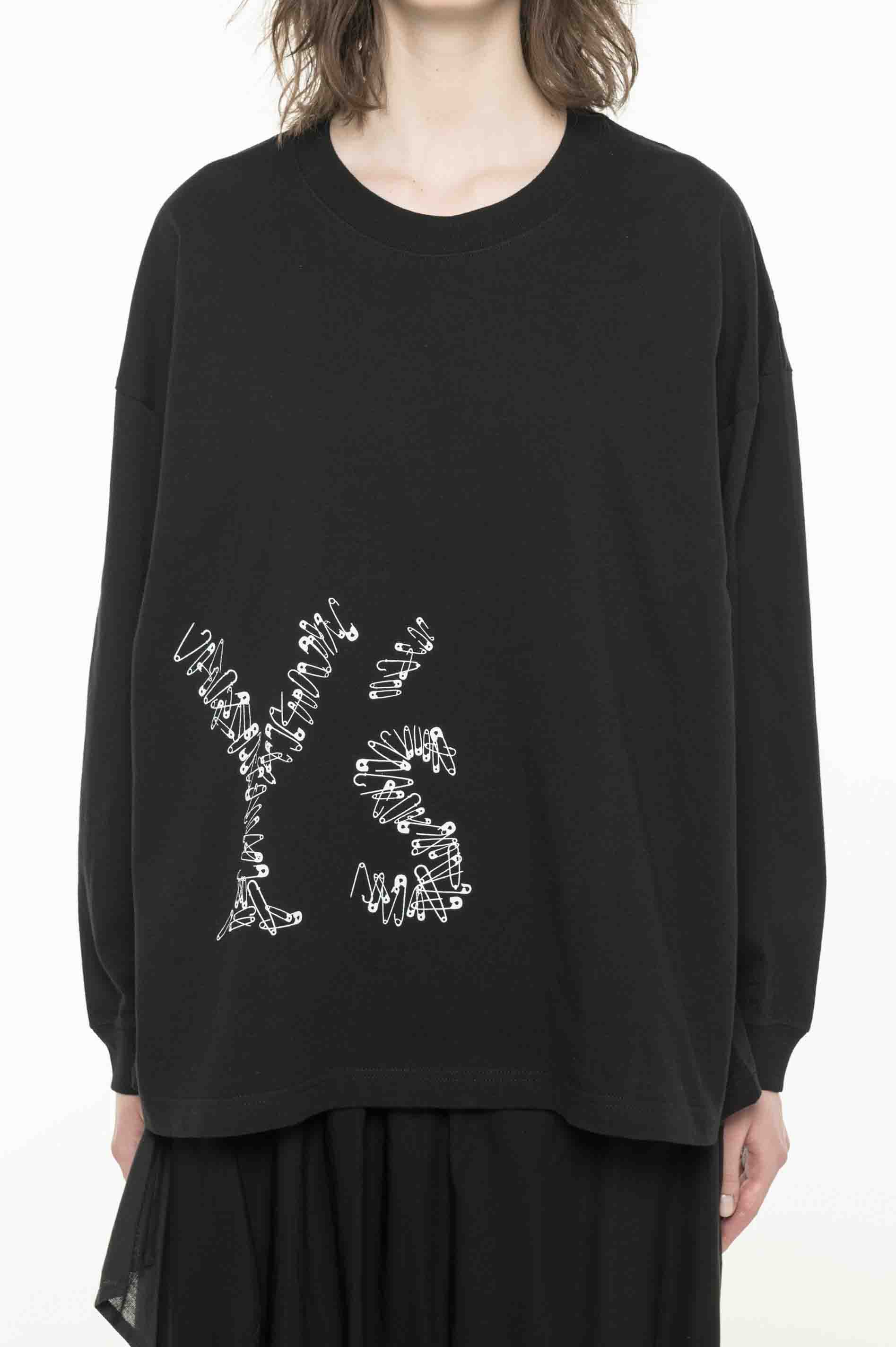 -Online EXCLUSIVE- Y's Pin Long T-shirt