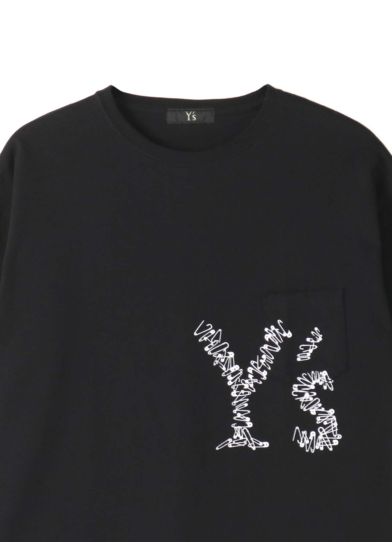 -Online EXCLUSIVE- Y's Pin T-shirt