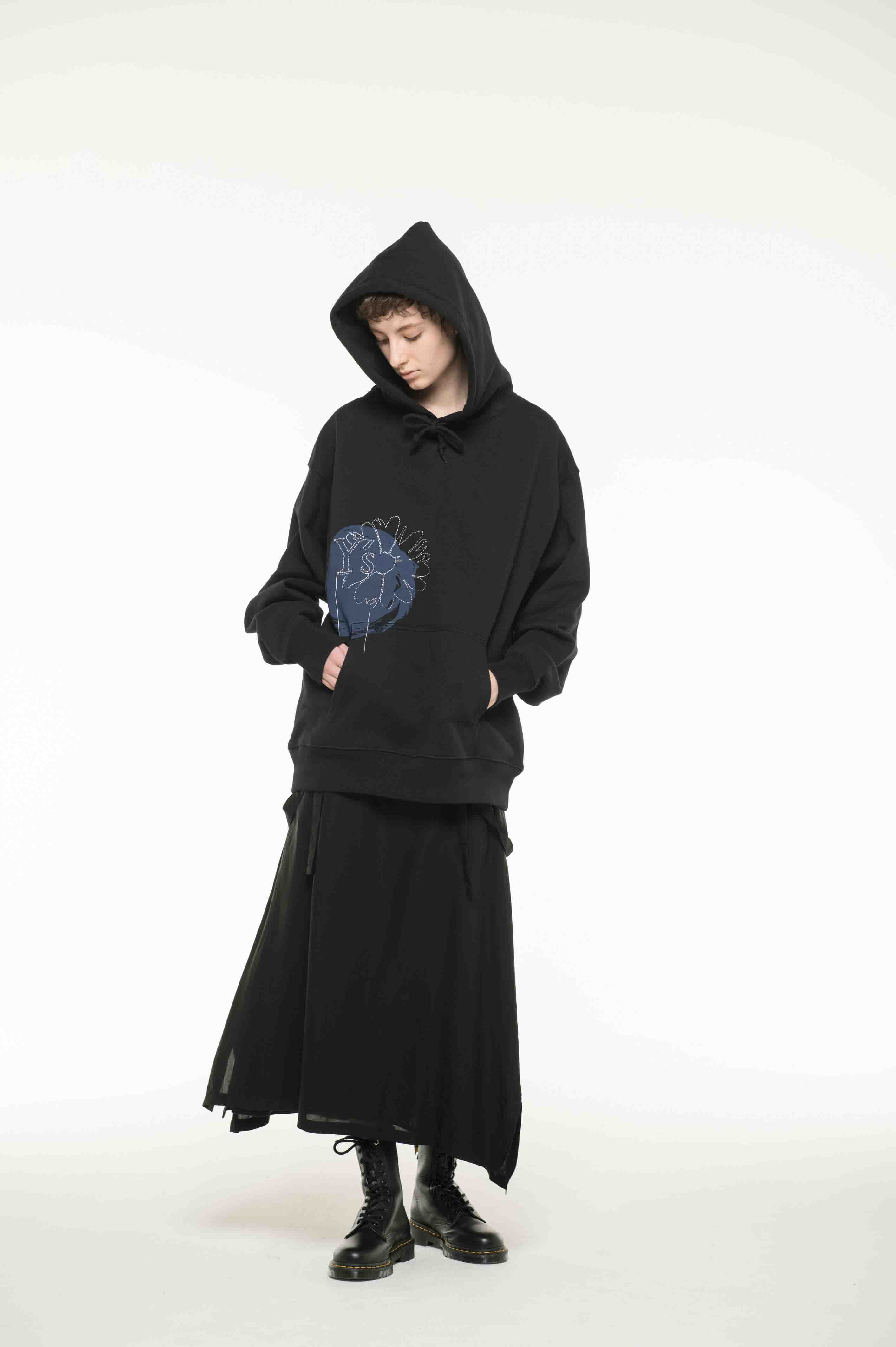 【Online Limited product】 Y's Floral Hoodie