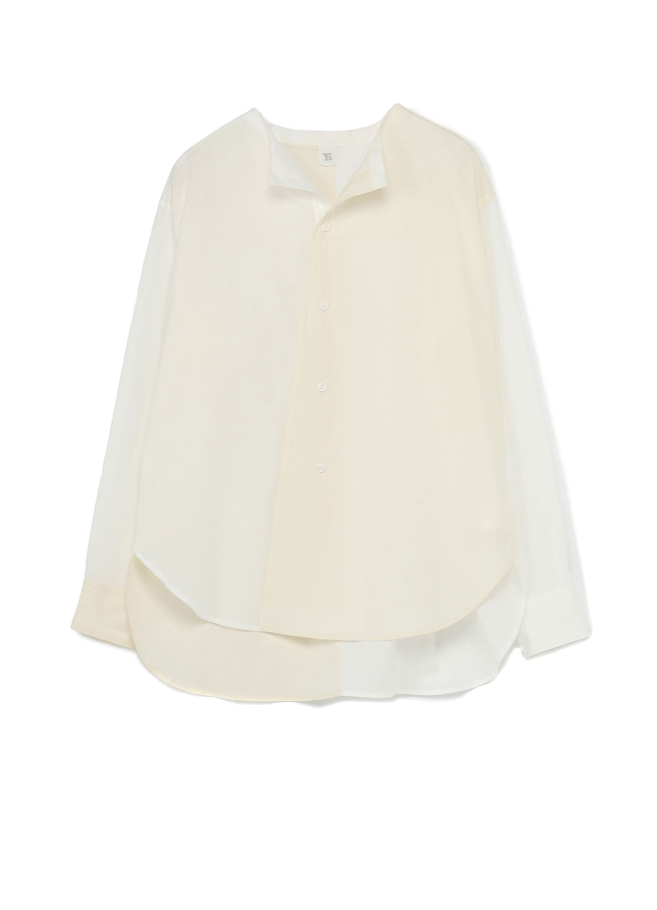 60 LAWN POWDER SNOW WASHER CUT OUT COLLAR BLOUSE