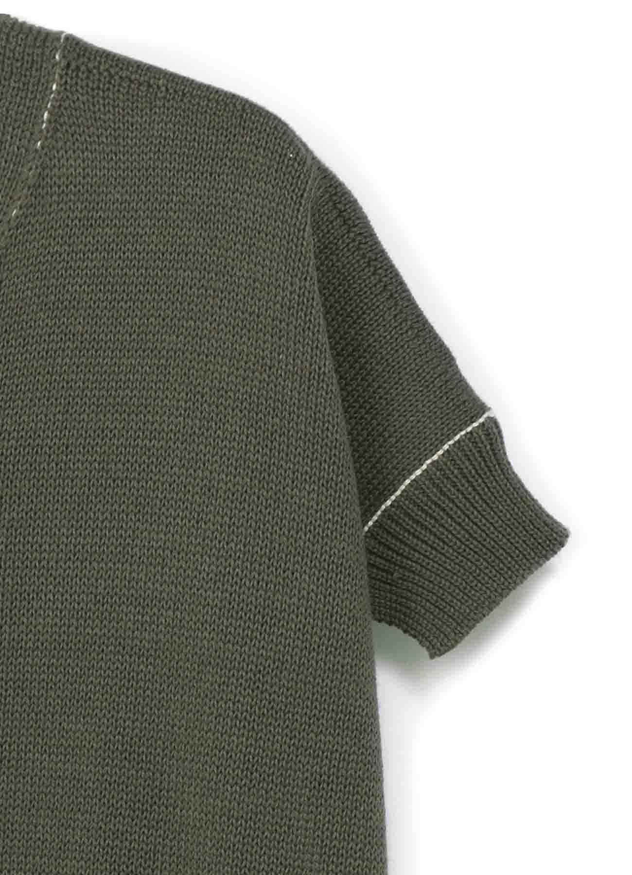 纯棉针织披风