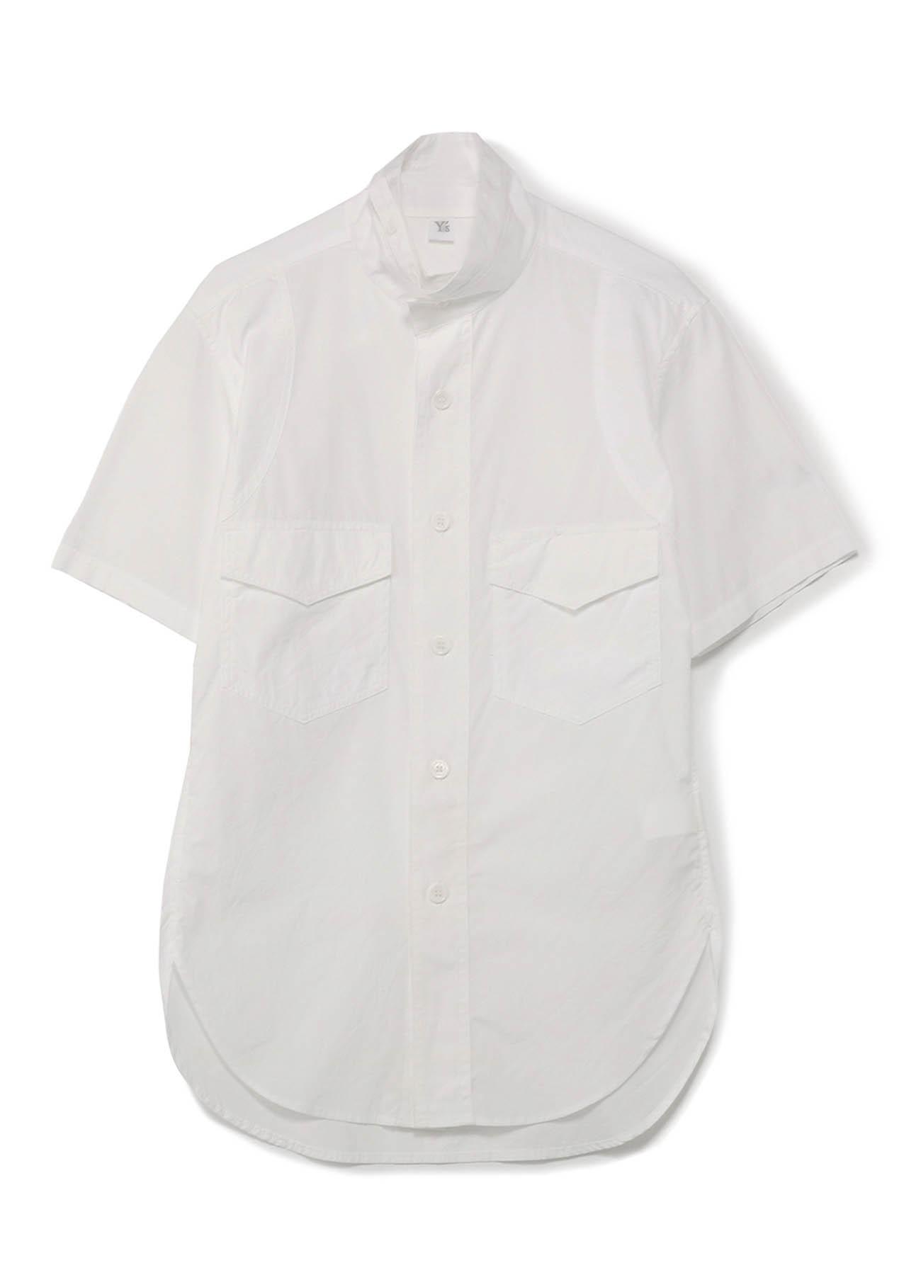 军用风情短袖衬衫