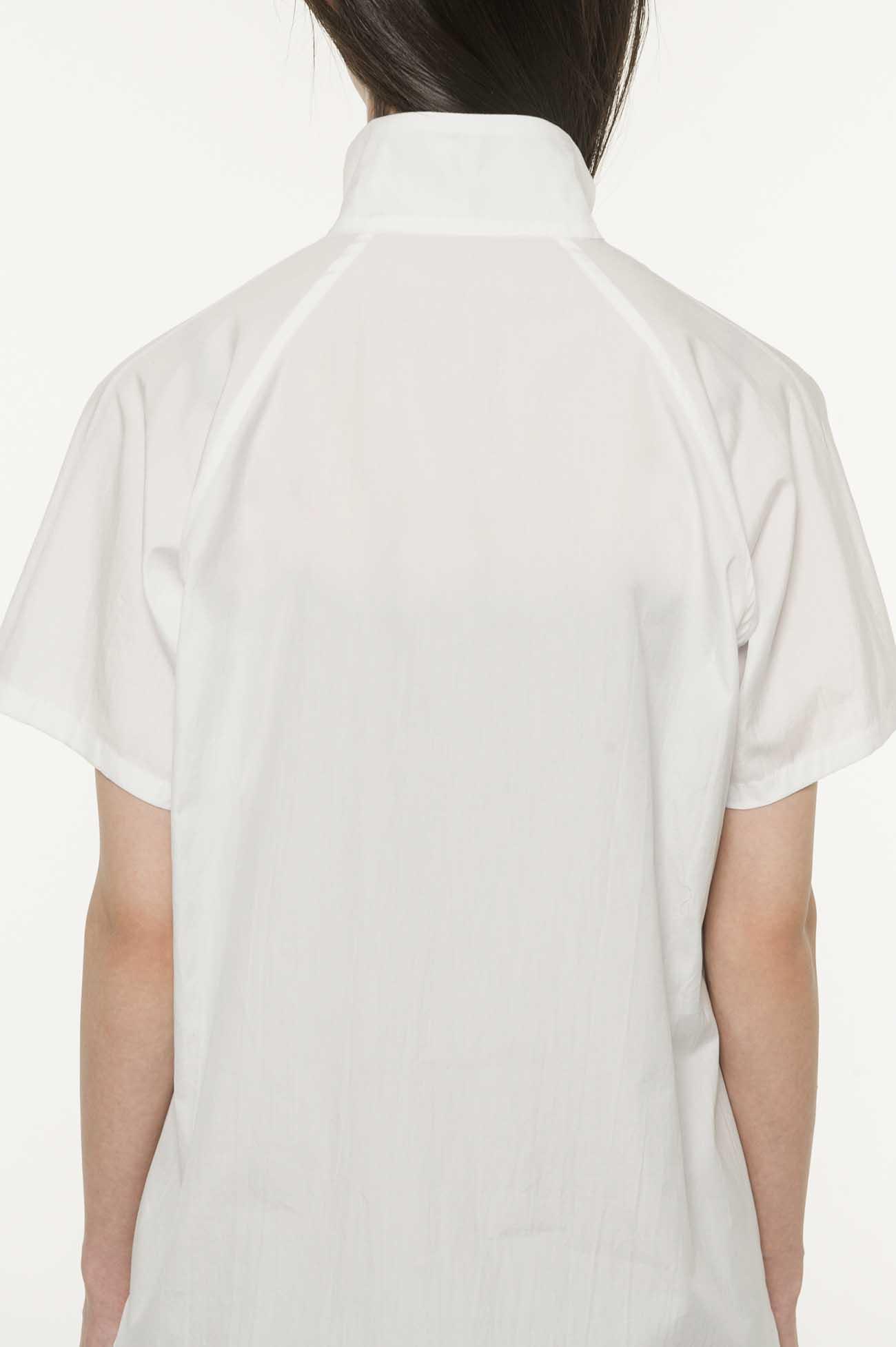 棉质宽Sha扣方形上衣