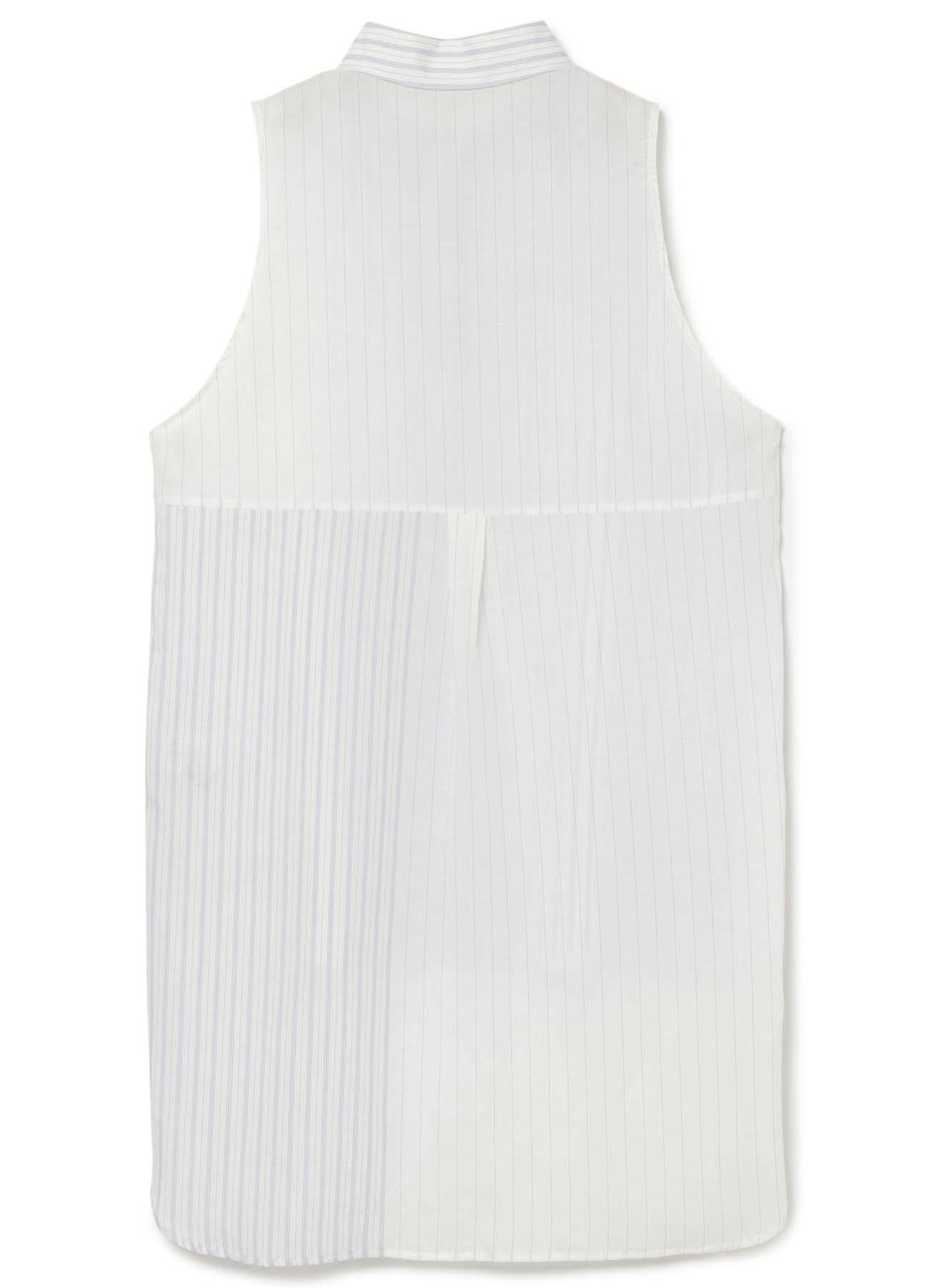 Lexel Lamy Mus条纹无袖衬衫