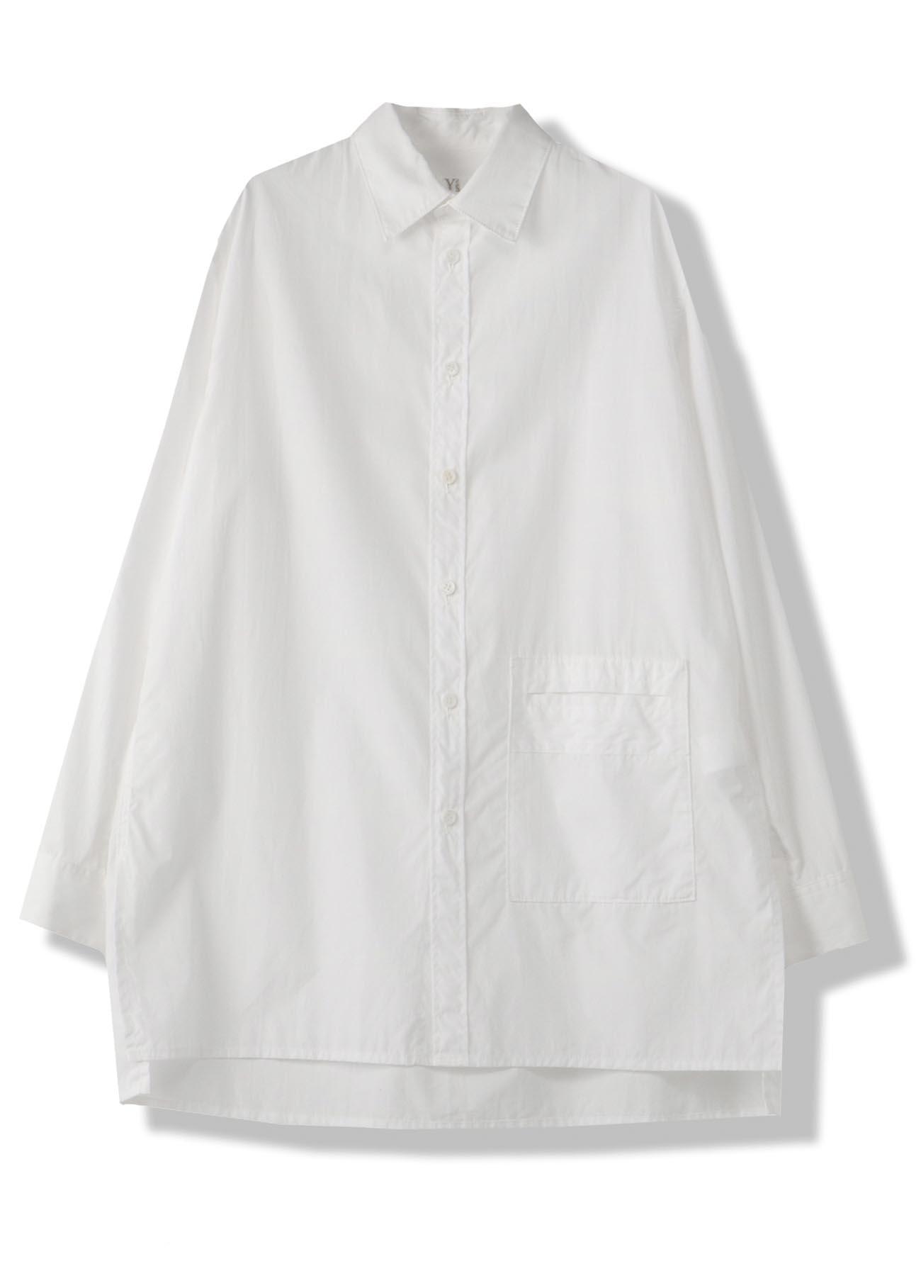 反转口袋棉制上衣